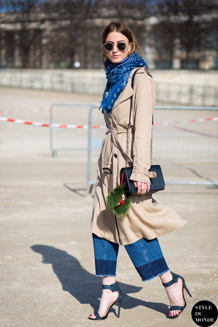 After Carven Street Style Street Fashion Streetsnaps by STYLEDUMONDE Street Style Fashion Blog