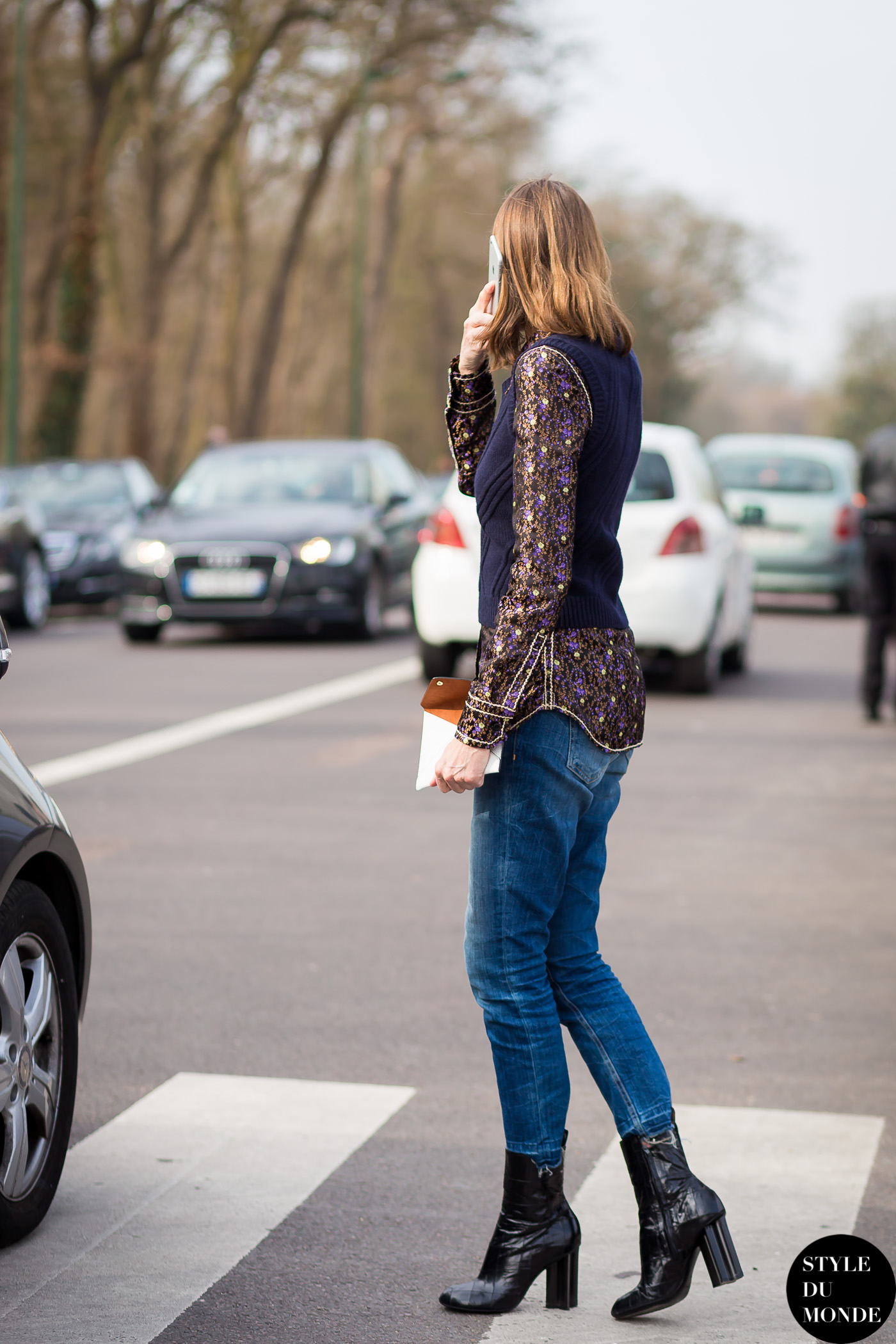 Annette Weber Street Style Street Fashion Streetsnaps by STYLEDUMONDE Street Style Fashion Photography