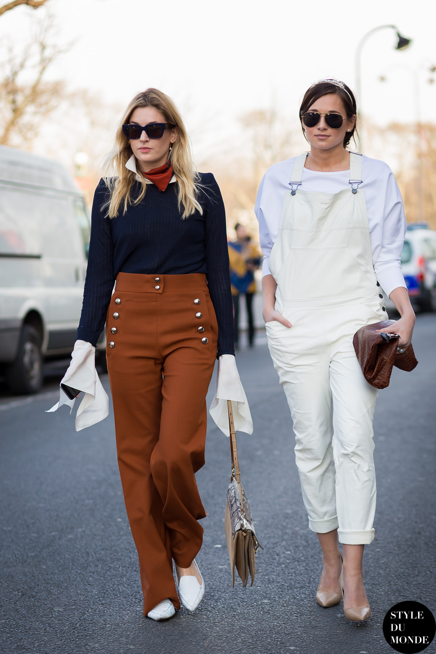 Camille Charrière and Danielle Bernstein Camille Over the Rainbow and WeWoreWhat Street Style Street Fashion Streetsnaps by STYLEDUMONDE Street Style Fashion Blog