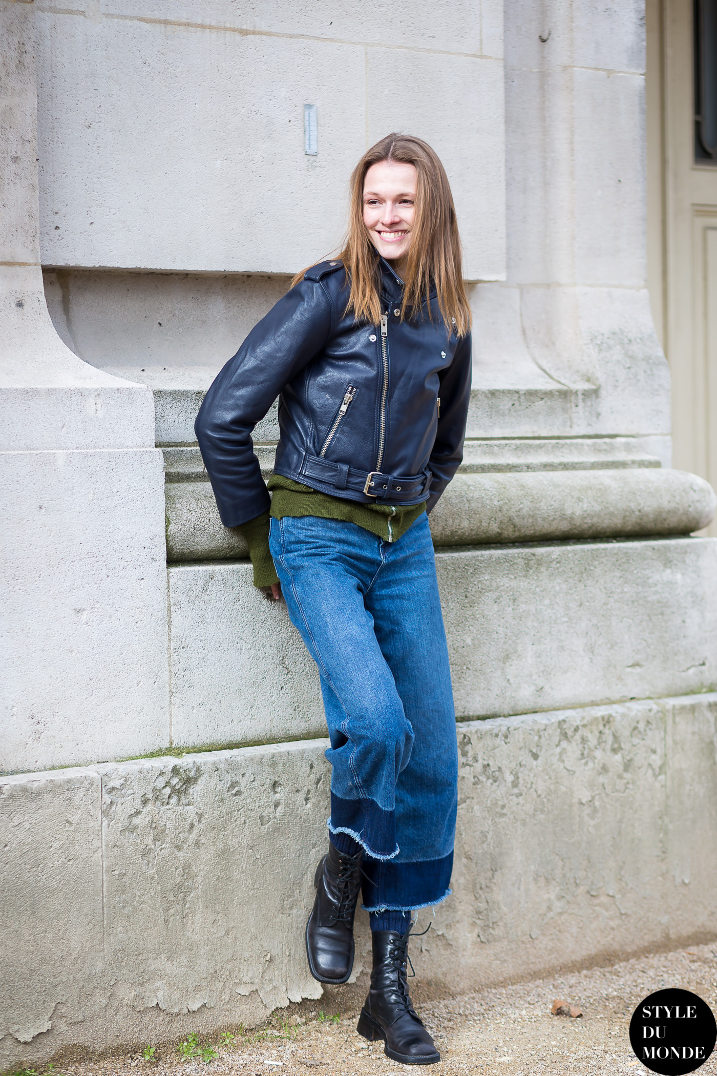 Paris Fashion Week Fw 2015 Street Style Emma Oak Style Du Monde Street Style Street Fashion