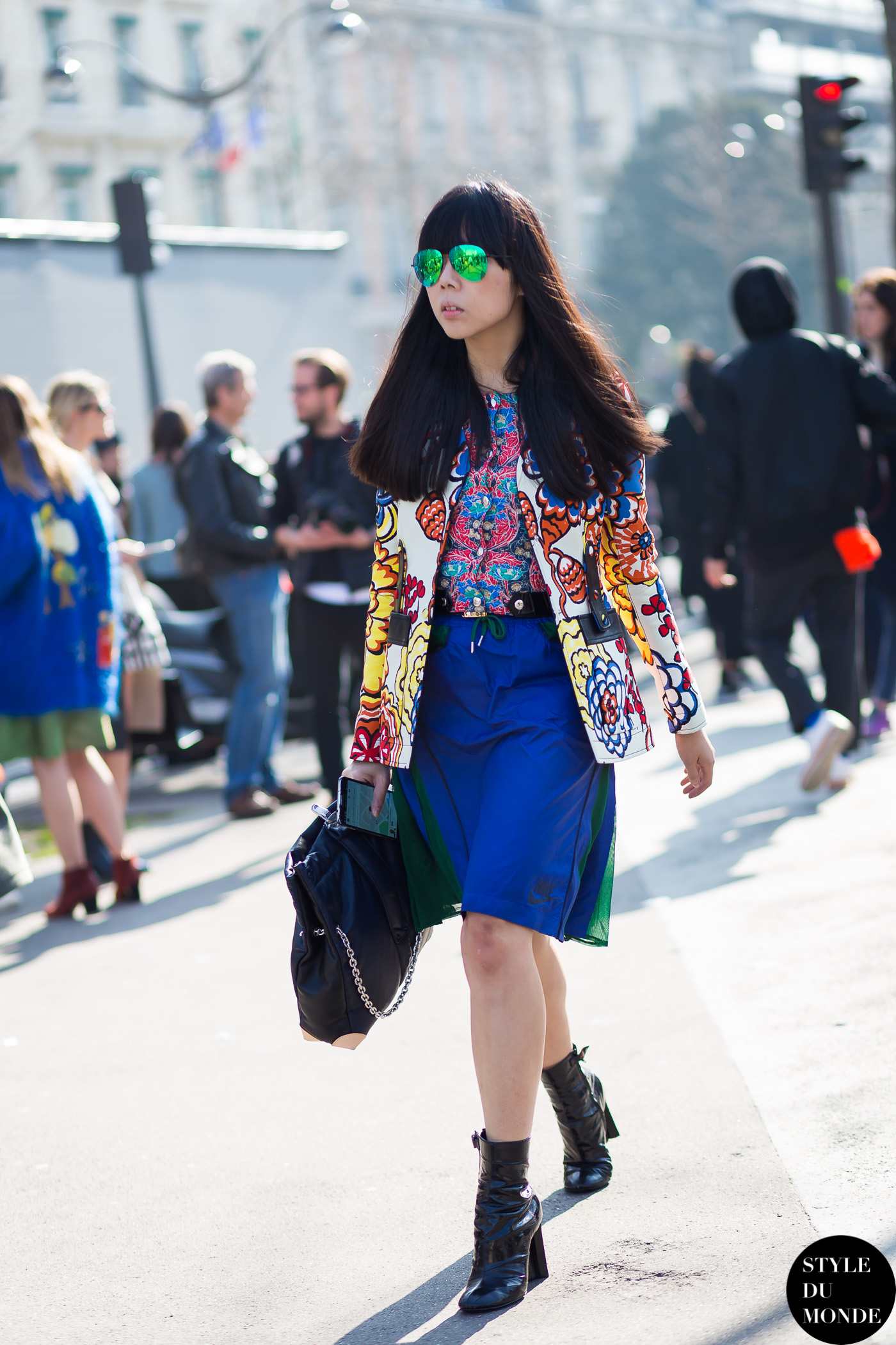 Susie Lau Style Bubble Susie Bubble Street Style Street Fashion Streetsnaps by STYLEDUMONDE Street Style Fashion Photography