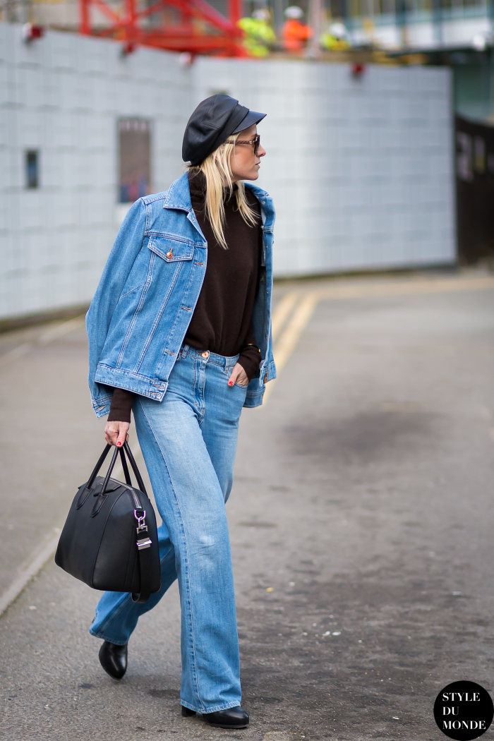 London fashion week fw 2015 street style celine aagaard Celine fashion street style