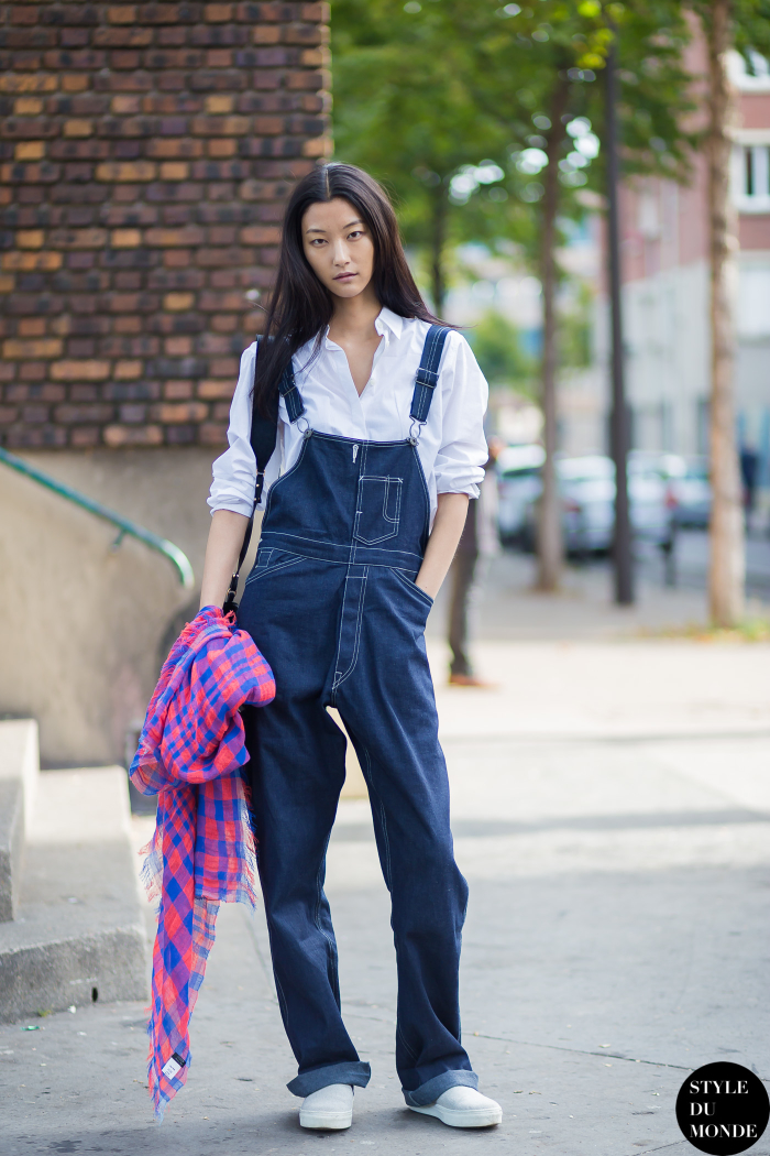 Ji-Hye Park Street Style Street Fashion Streetsnaps by STYLEDUMONDE Street Style Fashion Photography