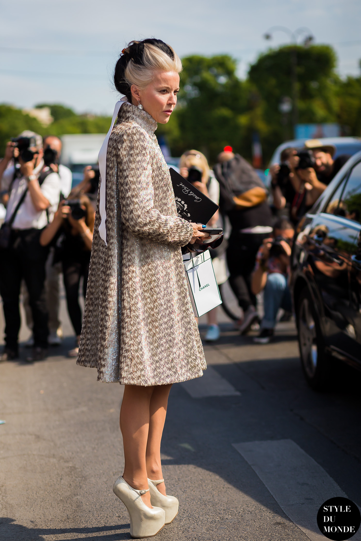 Haute Couture Fall 2015 Street Style Daphne Guinness Style Du Monde Street Style Street