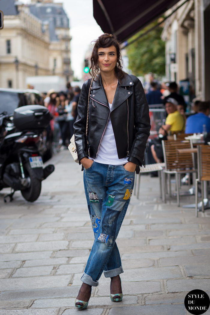 Fall Street Fashion 2013 For Girls: Haute Couture Fall 2015 Street Style: Marie Meyer
