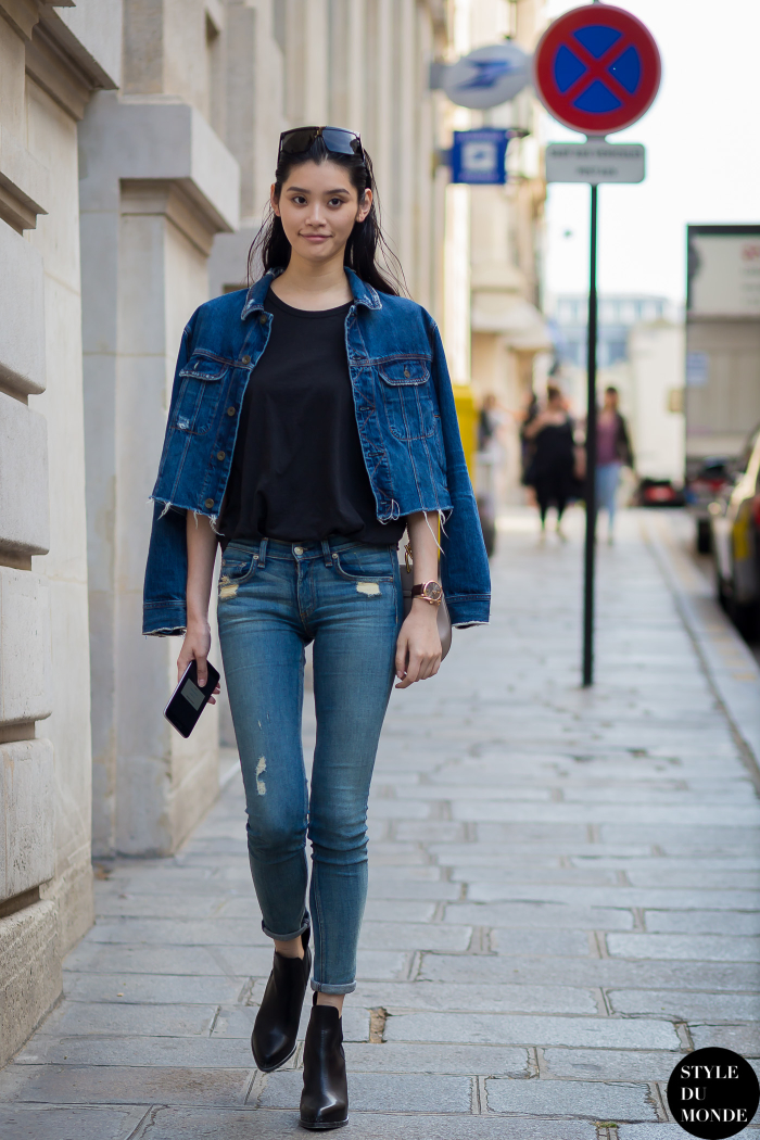 Paris Men S Fashion Week Spring 2016 Street Style Ming Xi