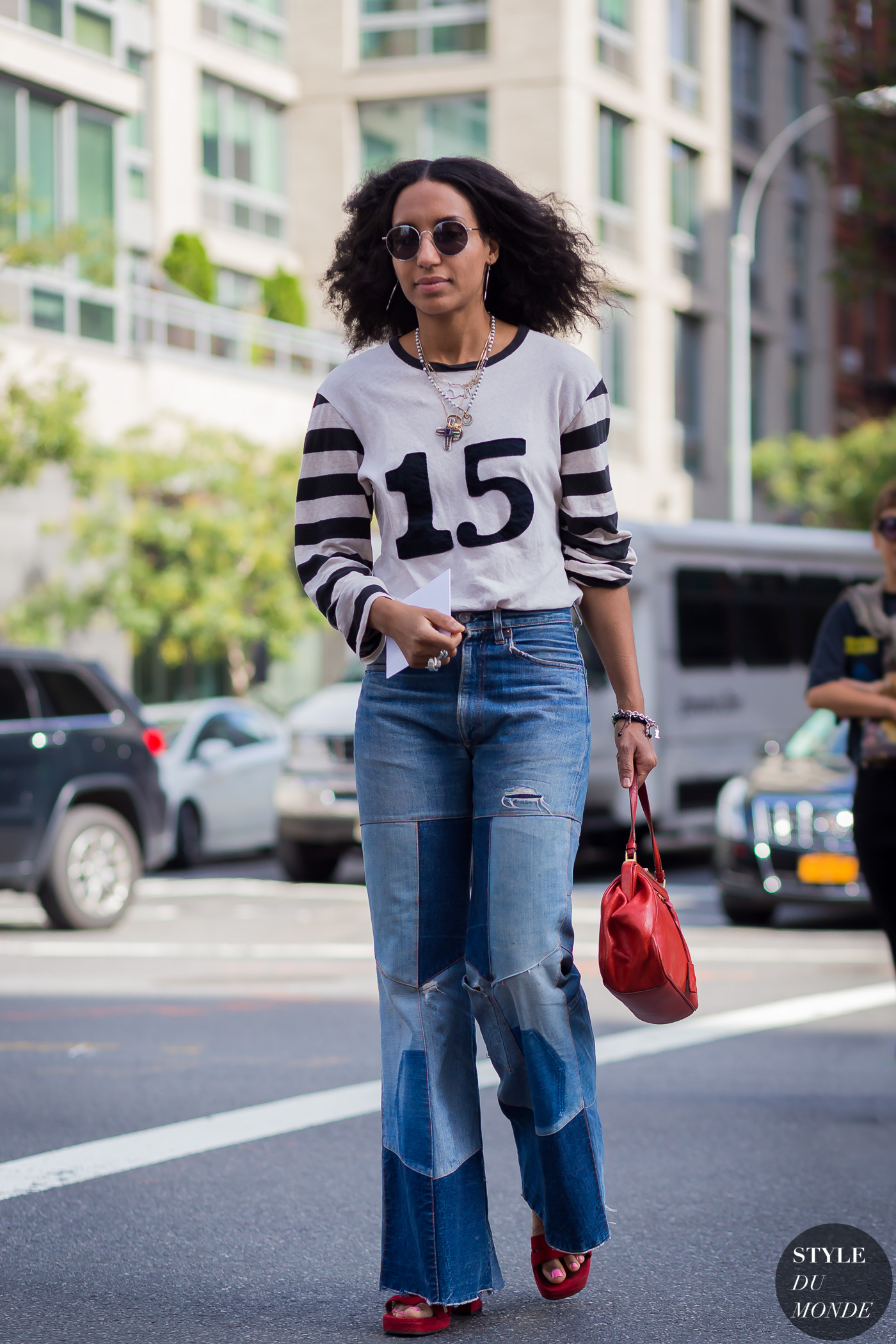 New York Fashion Week Ss 2016 Street Style Chioma Nnadi Style Du Monde Street Style Street