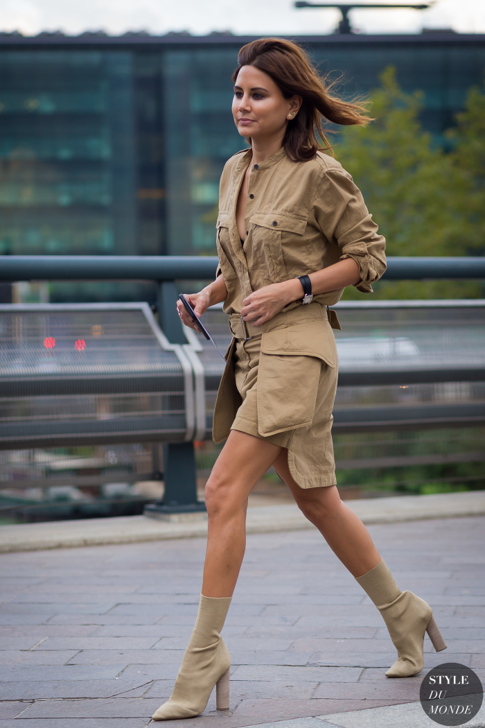 London Fashion Week Ss 2016 Street Style Christine