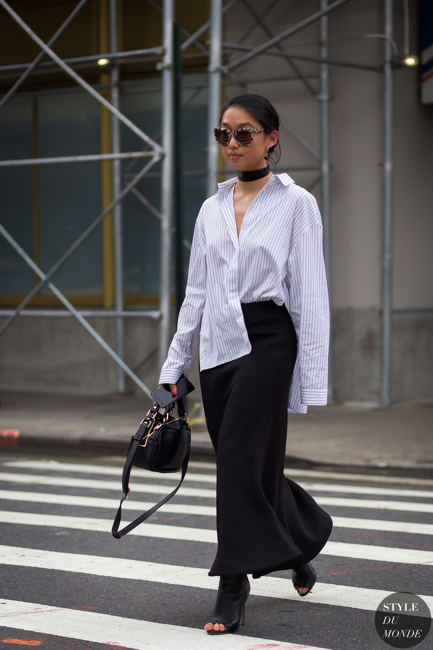 New York Fashion Week Ss 2016 Street Style Margaret Zhang Style Du Monde Street Style