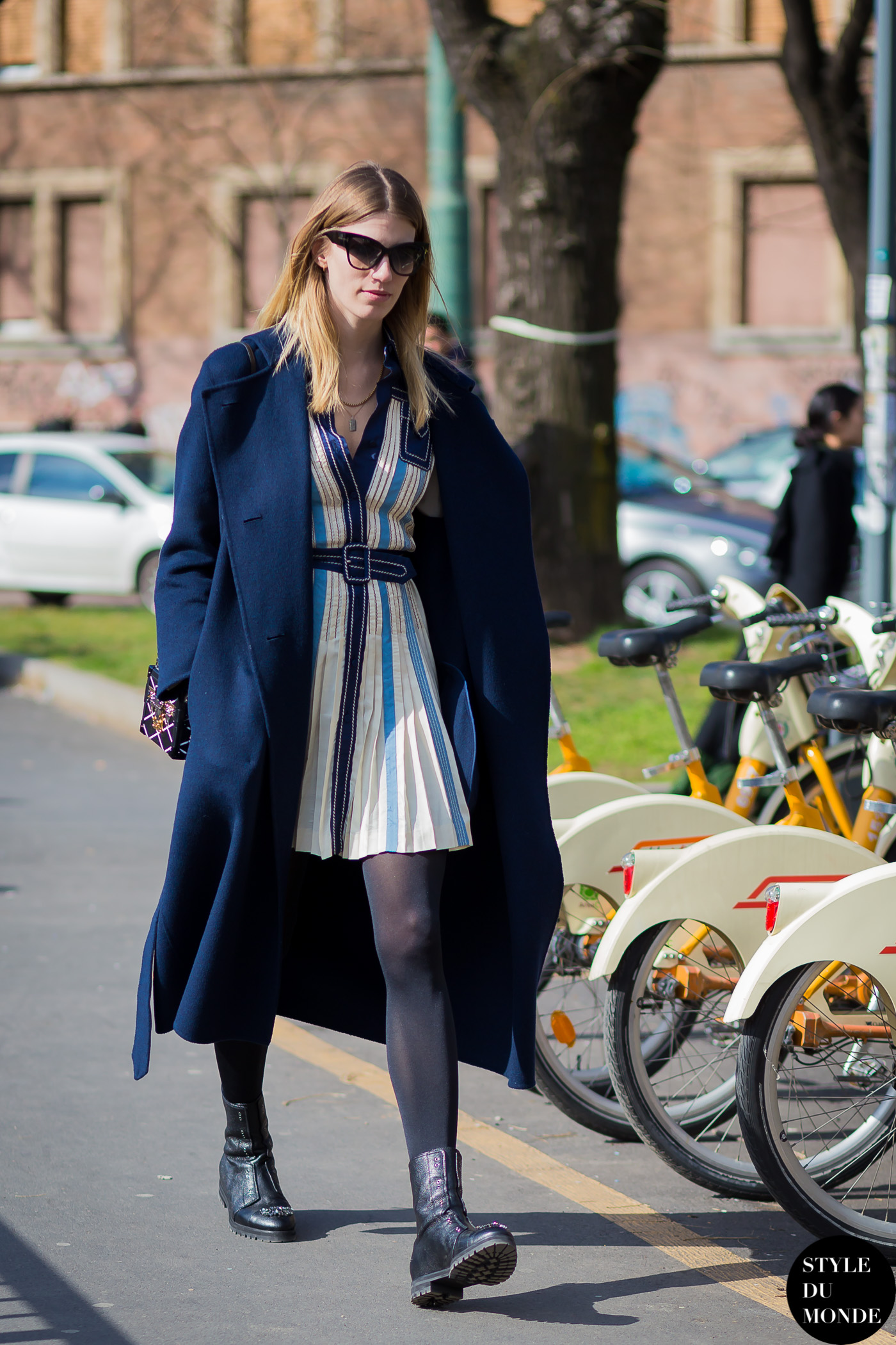 Veronika Heilbrunner Street Style Street Fashion Streetsnaps by STYLEDUMONDE Street Style Fashion Photography