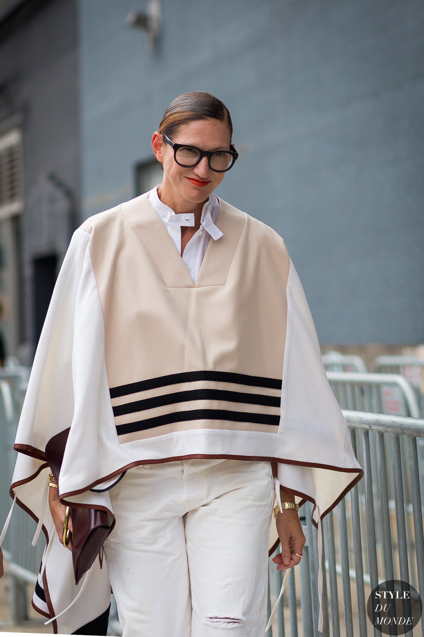 Jenna Lyons Street Style Street Fashion Streetsnaps by STYLEDUMONDE Street Style Fashion Photography