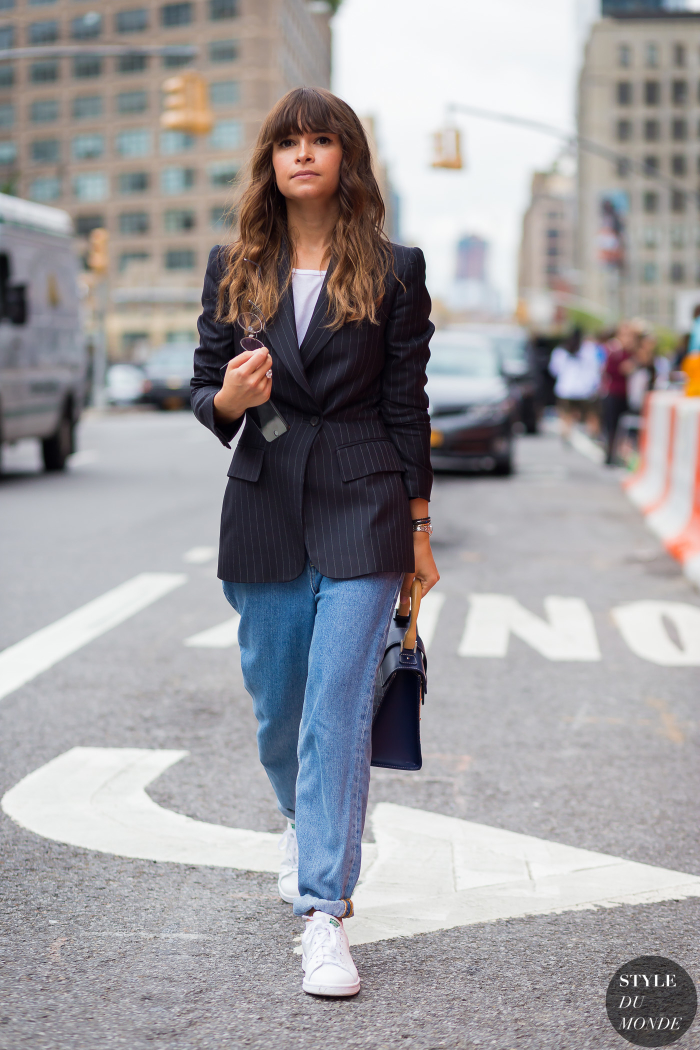 New York Fashion Week Ss 2016 Street Style Miroslava Duma