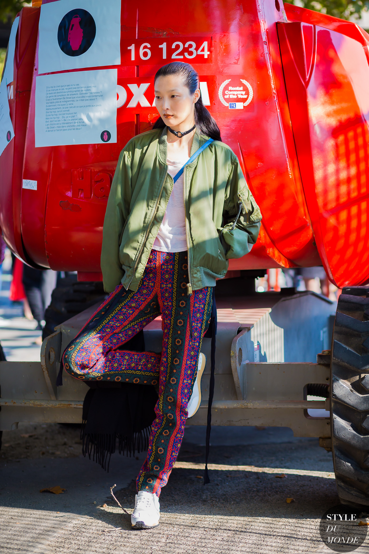 Sunghee Kim Street Style Street Fashion Streetsnaps by STYLEDUMONDE Street Style Fashion Photography
