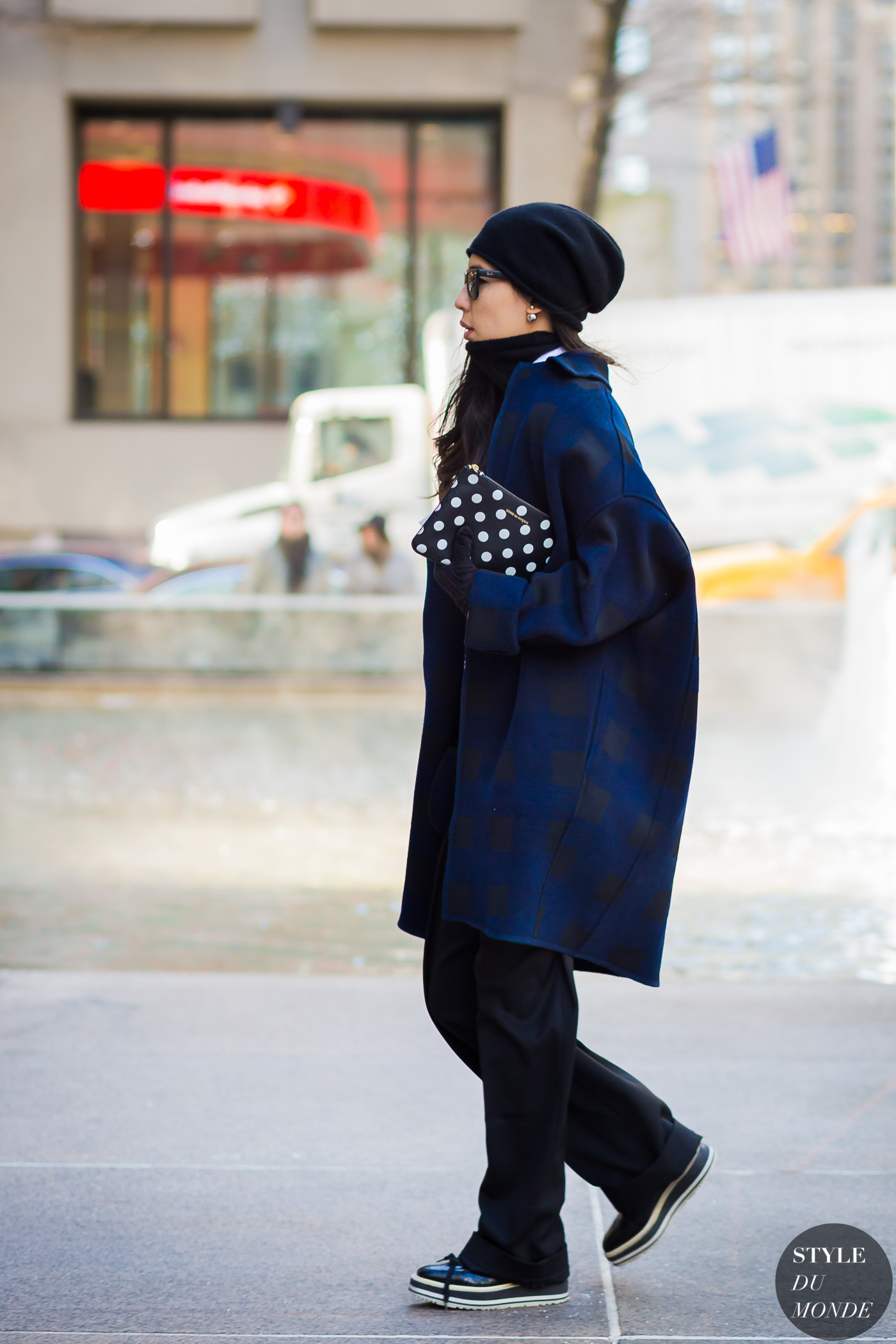Before The Row Street Style Street Fashion Streetsnaps by STYLEDUMONDE Street Style Fashion Photography