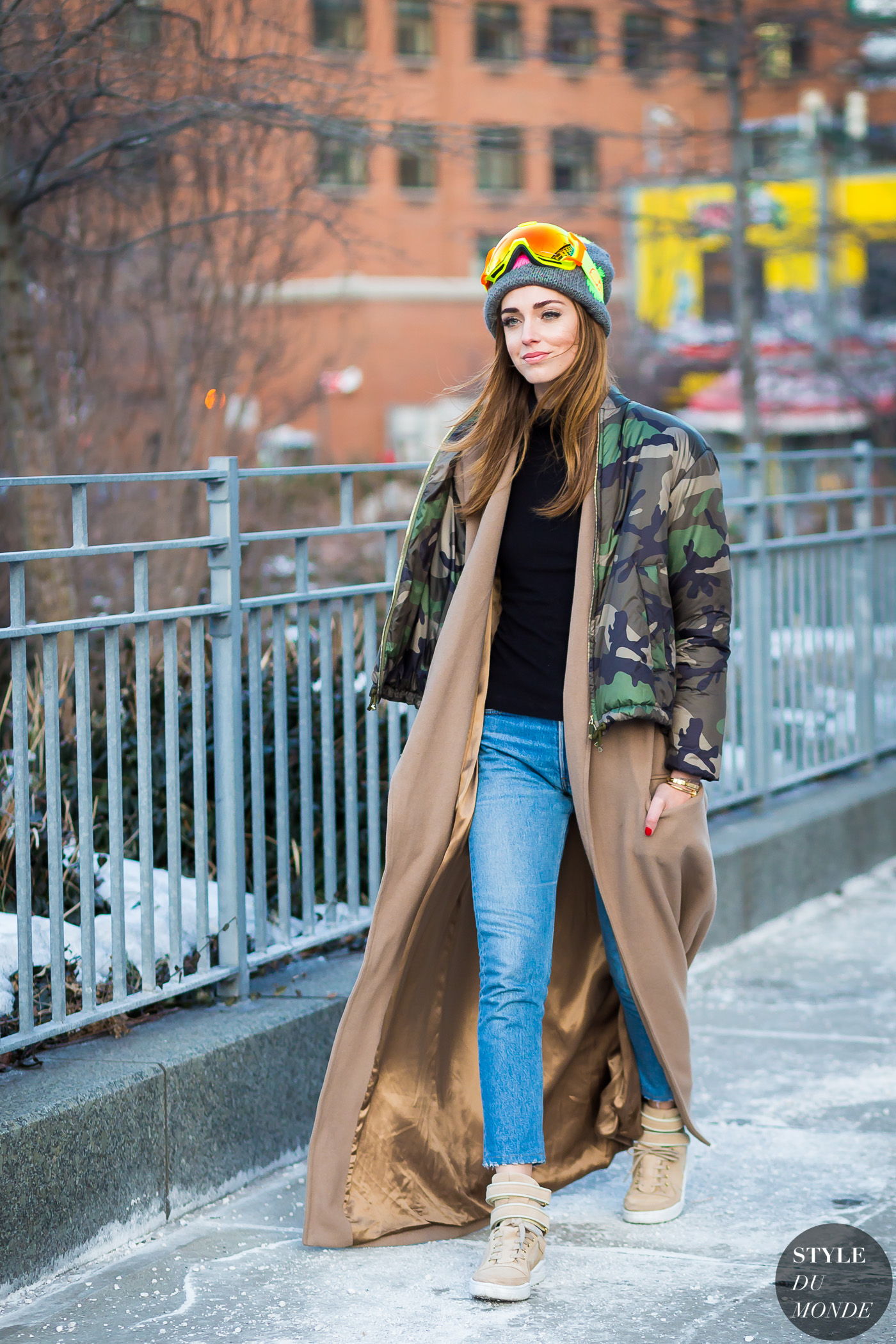 Chiara Ferragni The Blonde Salad by STYLEDUMONDE Street Style Fashion Photography