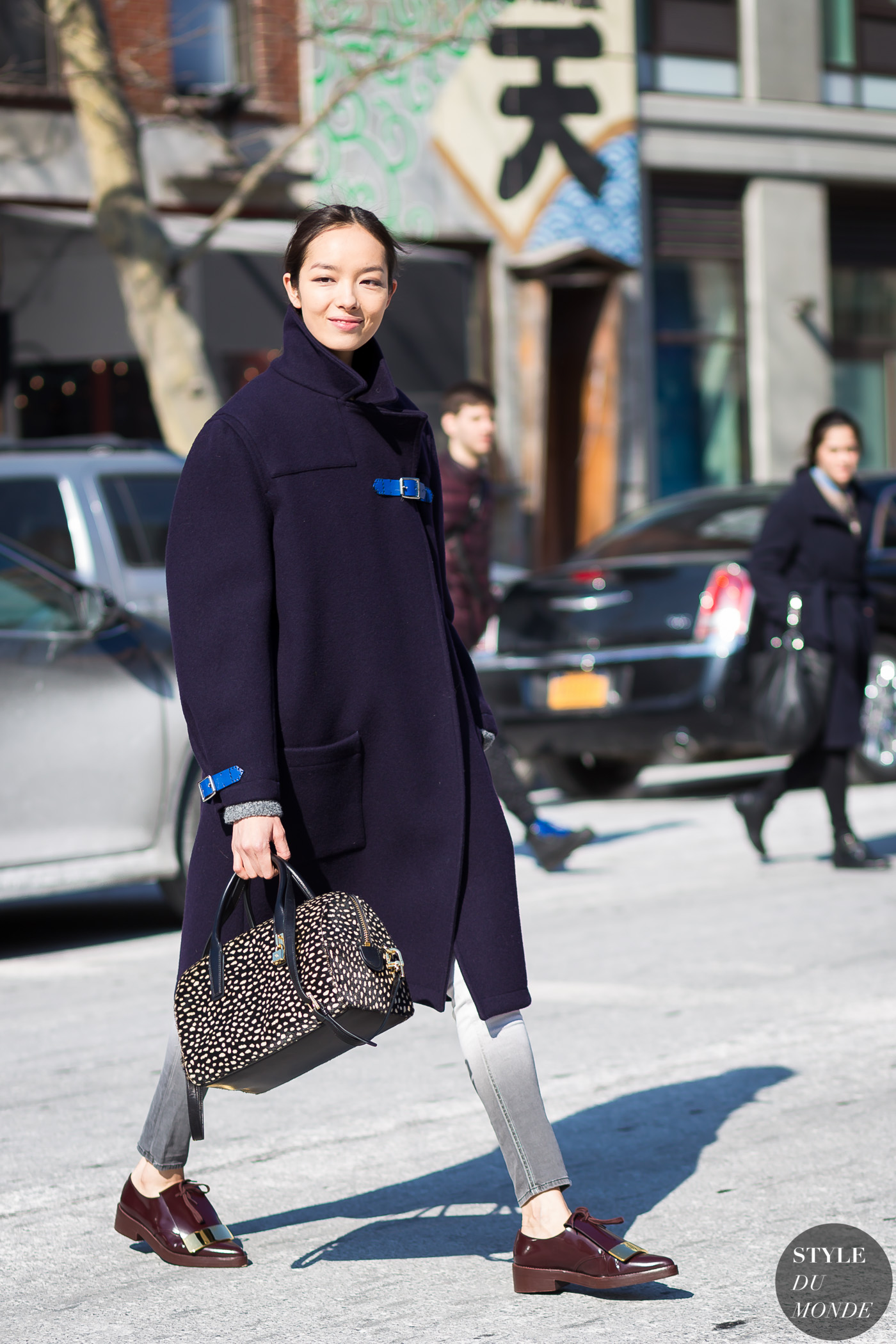 Fei Fei Sun by STYLEDUMONDE Street Style Fashion Photography