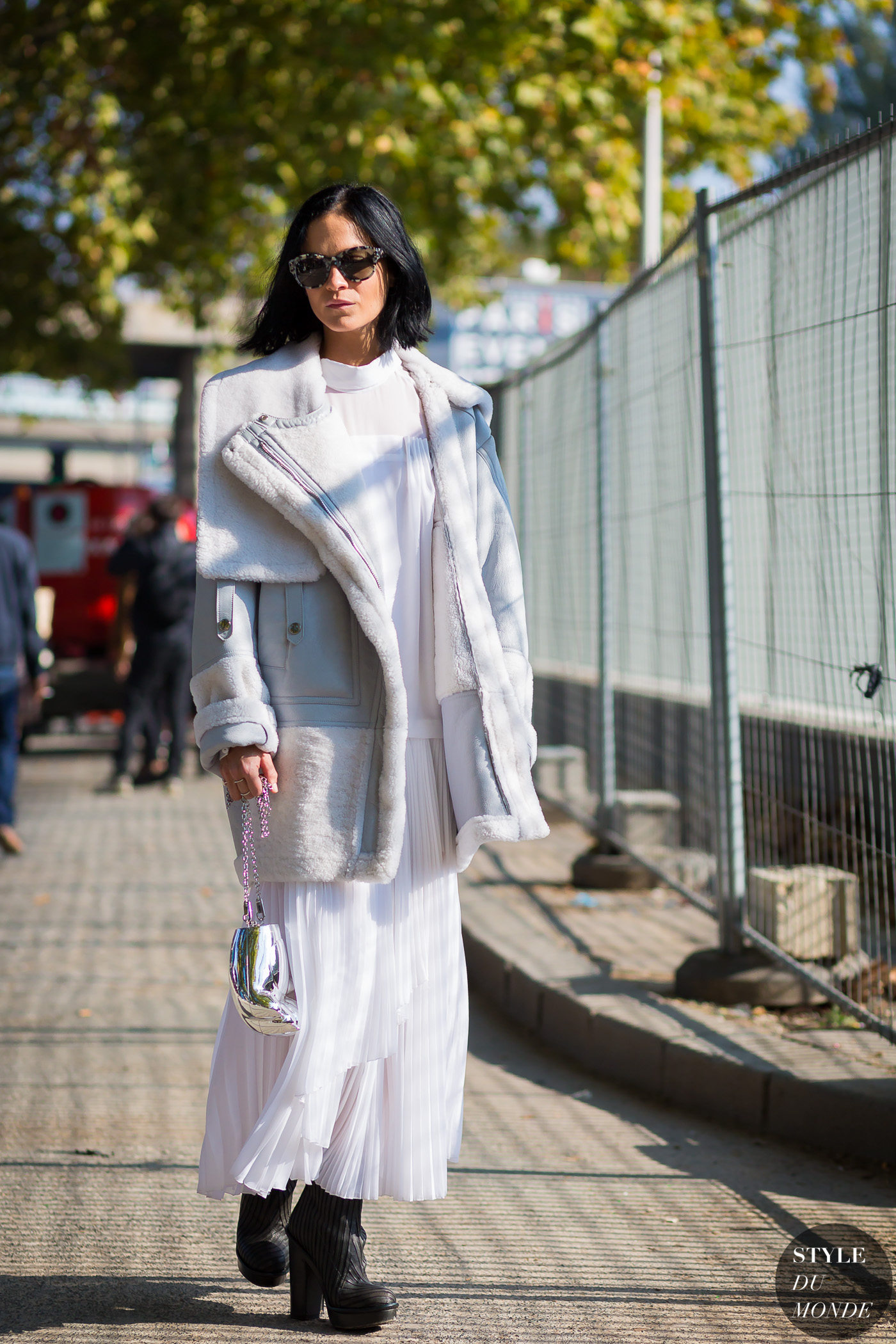 Leigh Lezark Street Style Street Fashion Streetsnaps by STYLEDUMONDE Street Style Fashion Photography