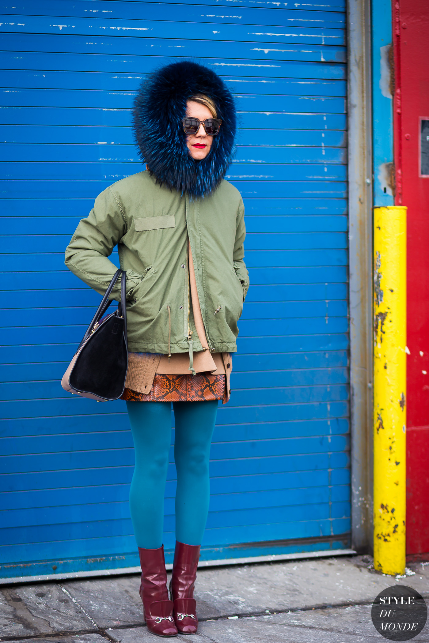 Natalie Joos Street Style Street Fashion Streetsnaps by STYLEDUMONDE Street Style Fashion Photography