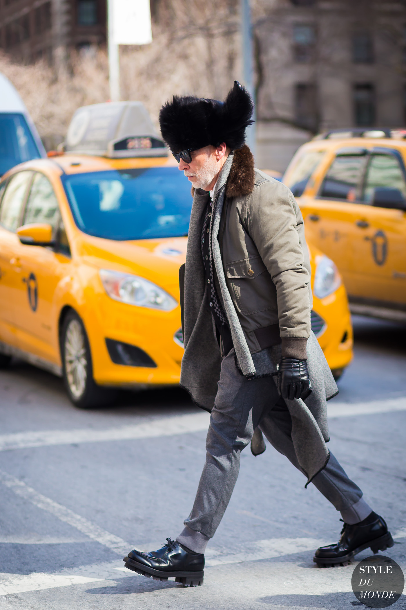 Nick Wooster Street Style Street Fashion Streetsnaps by STYLEDUMONDE Street Style Fashion Photography