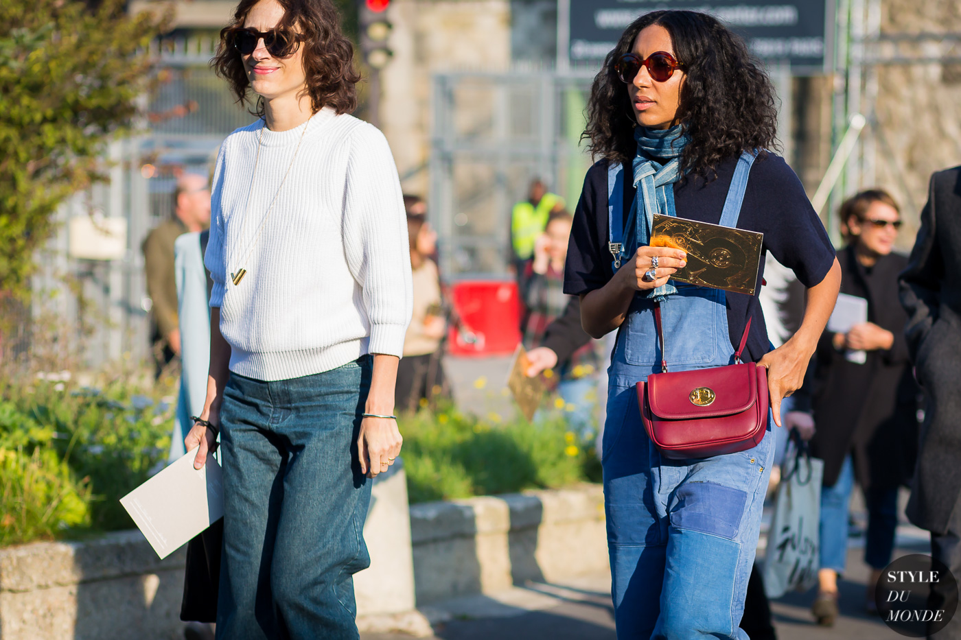 Nicole Phelps and Chioma Nnadi Street Style Street Fashion Streetsnaps by STYLEDUMONDE Street Style Fashion Photography