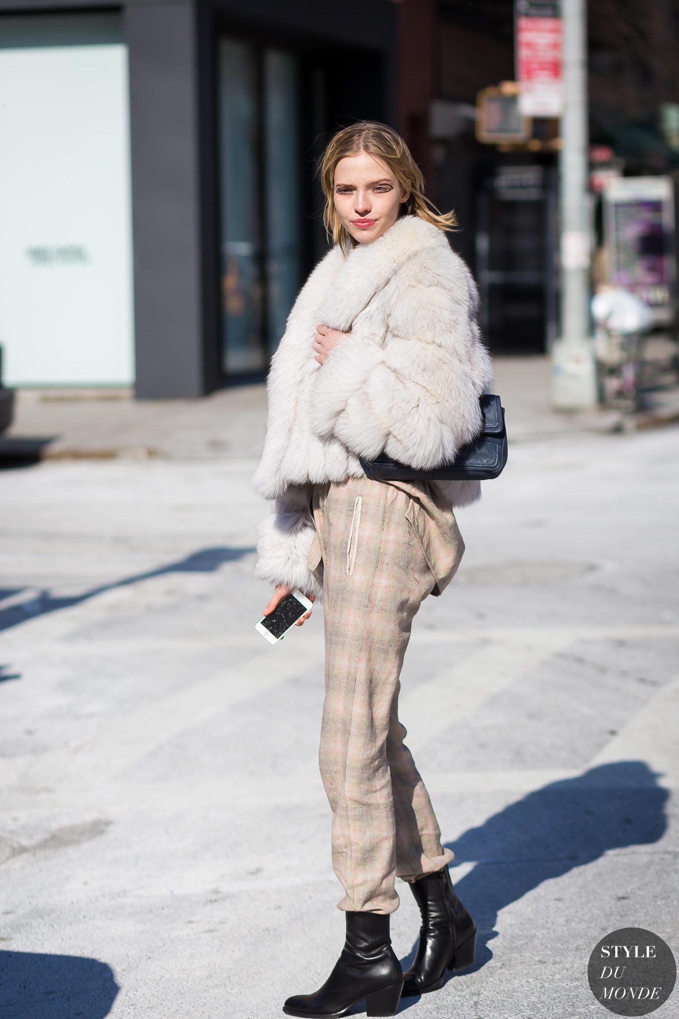 Sasha Luss by STYLEDUMONDE Street Style Fashion Photography