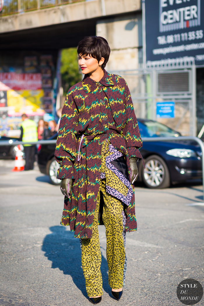 Paris Fashion Week Ss 2016 Street Style Zendaya Style