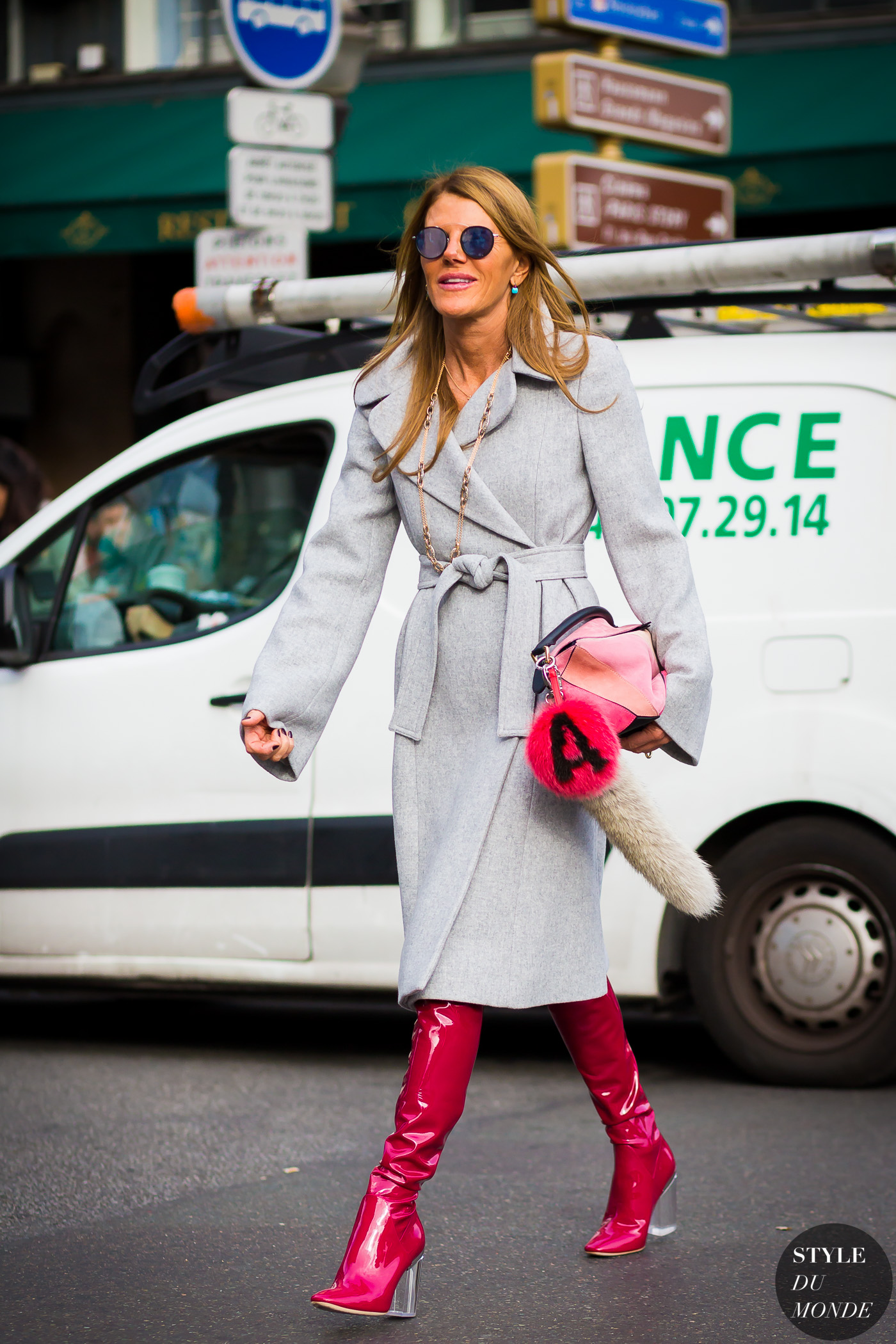 Anna Dello Russo Street Style Street Fashion Streetsnaps by STYLEDUMONDE Street Style Fashion Photography