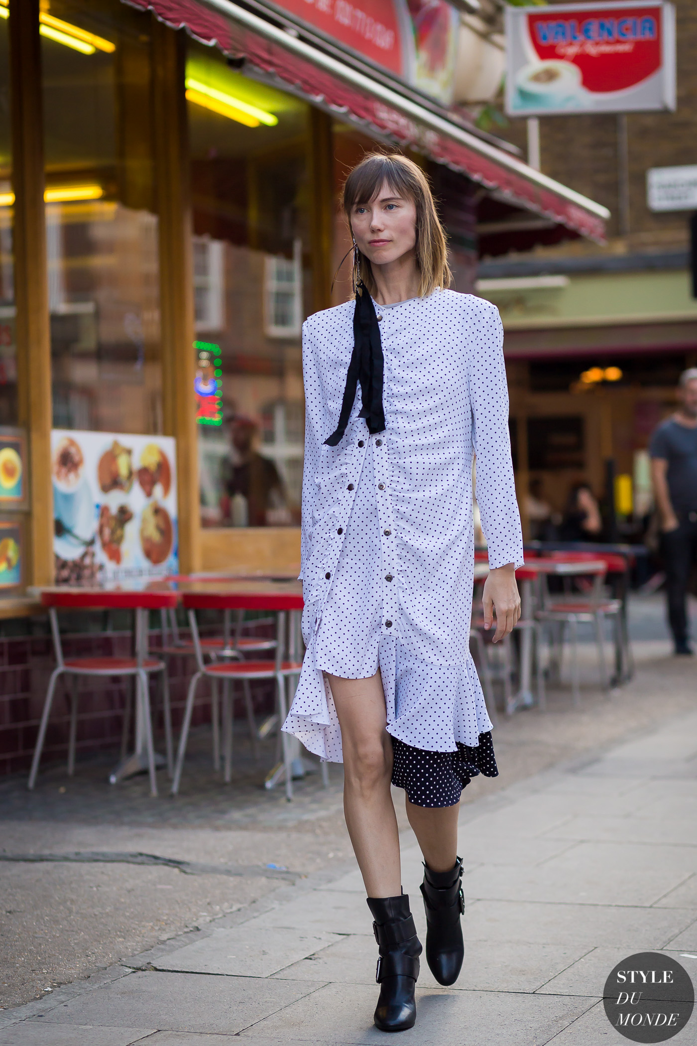 Anya Ziourova Street Style Street Fashion Streetsnaps by STYLEDUMONDE Street Style Fashion Photography