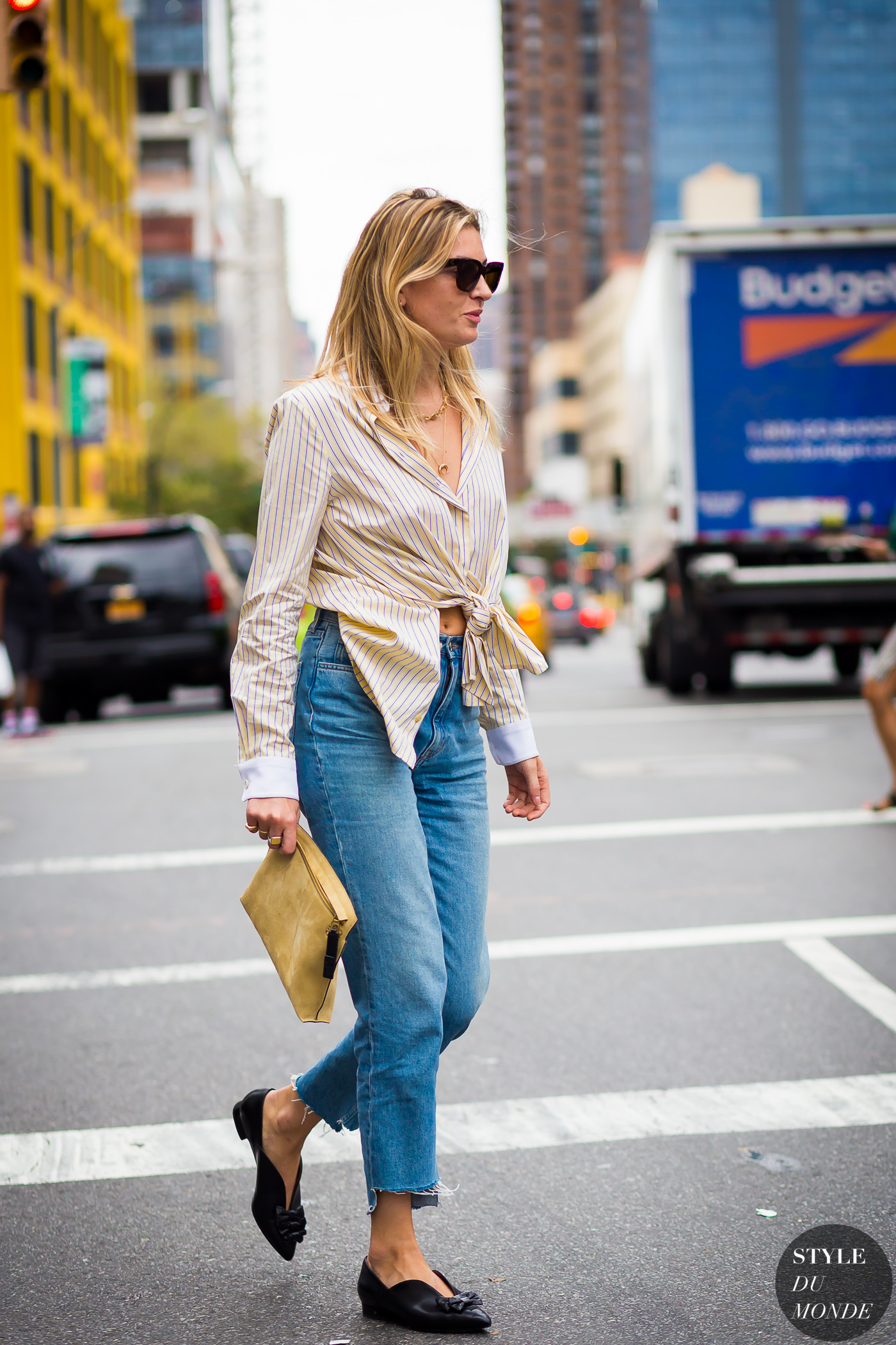 Camille Charriere Street Style Street Fashion Streetsnaps by STYLEDUMONDE Street Style Fashion Photography