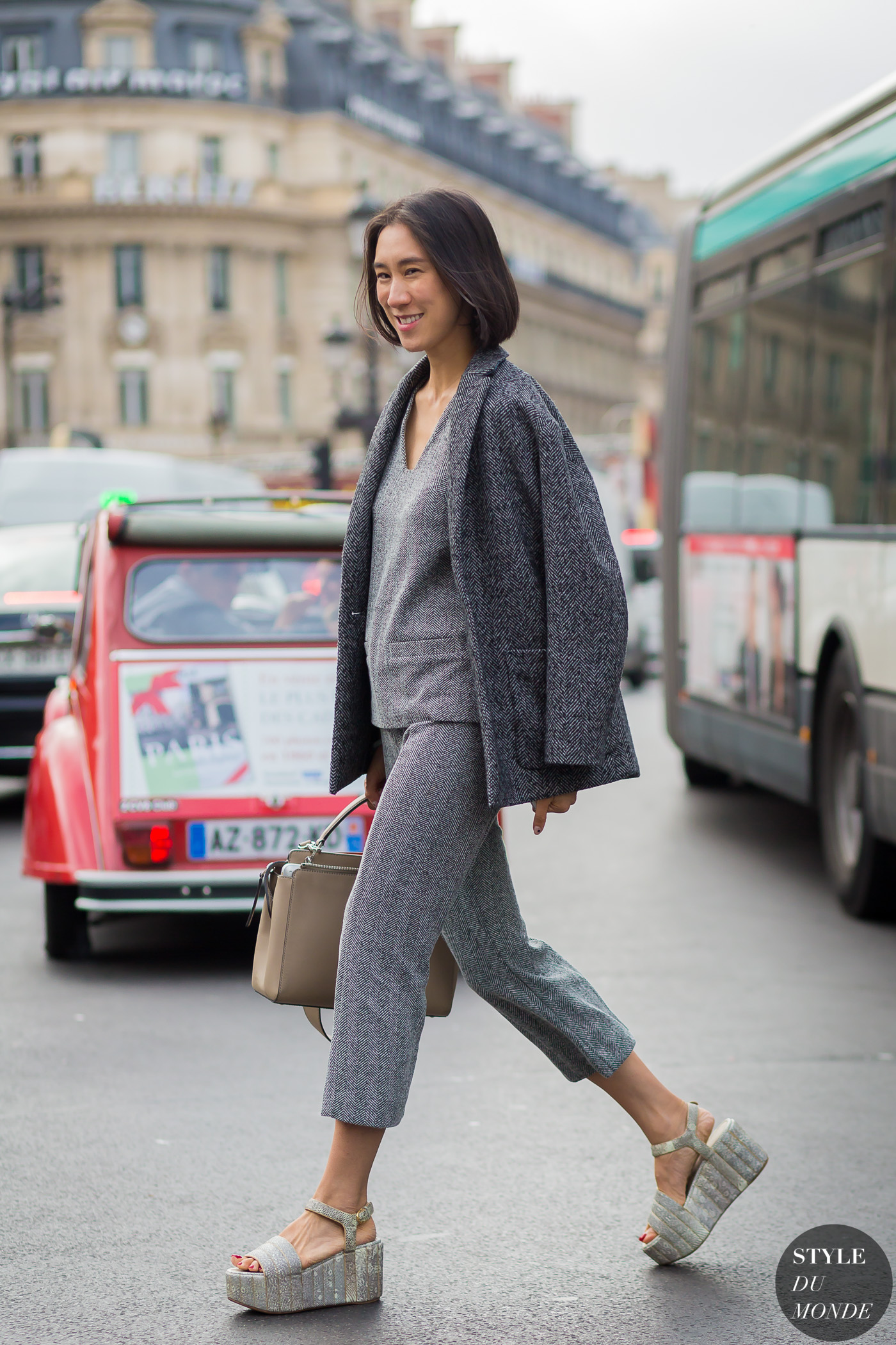 Eva Chen Street Style Street Fashion Streetsnaps by STYLEDUMONDE Street Style Fashion Photography