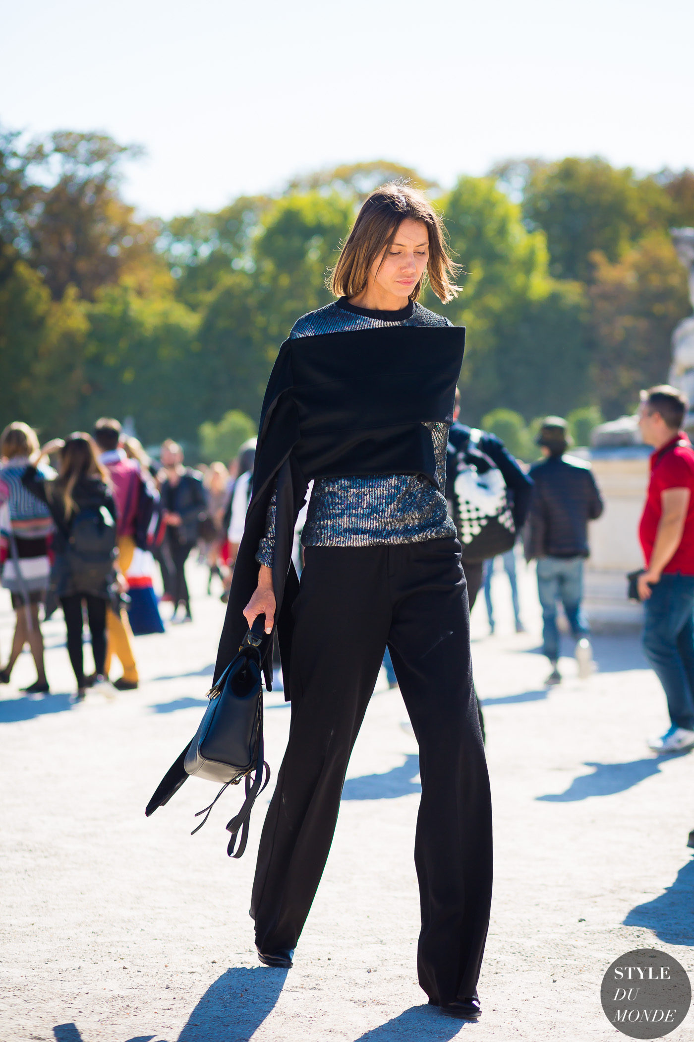 Julie Pelipas Street Style Street Fashion Streetsnaps by STYLEDUMONDE Street Style Fashion Photography
