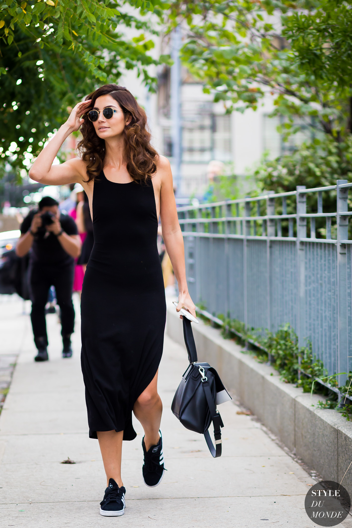 Lily Aldridge Street Style Street Fashion Streetsnaps by STYLEDUMONDE Street Style Fashion Photography