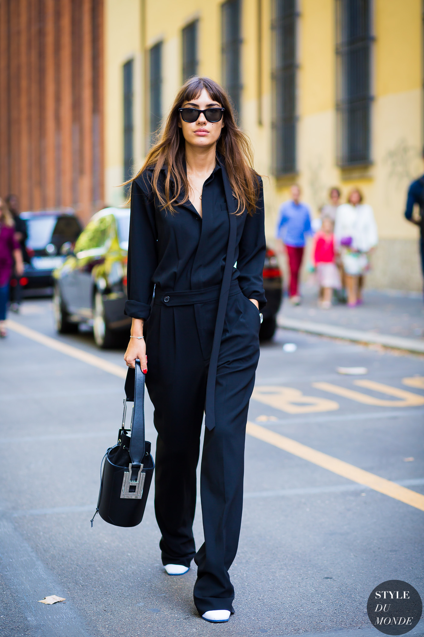 Patricia Manfield Street Style Street Fashion Streetsnaps by STYLEDUMONDE Street Style Fashion Photography