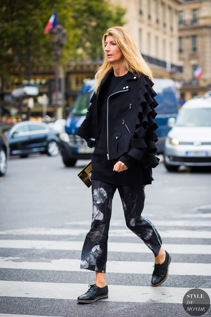 Paris Fashion Week Ss 2016 Street Style Sarah Rutson