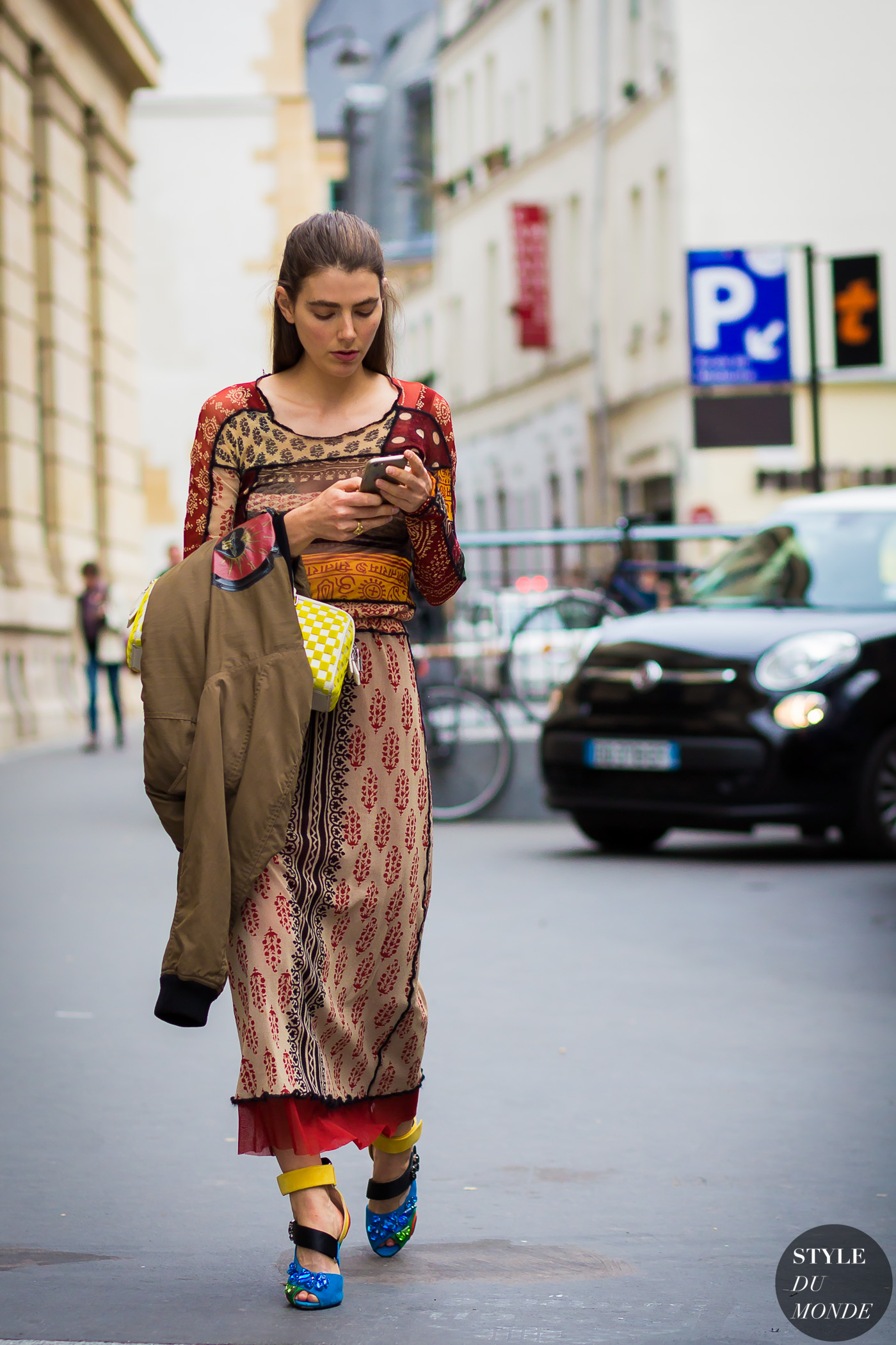 Ursina Gysi Street Style Street Fashion Streetsnaps by STYLEDUMONDE Street Style Fashion Photography