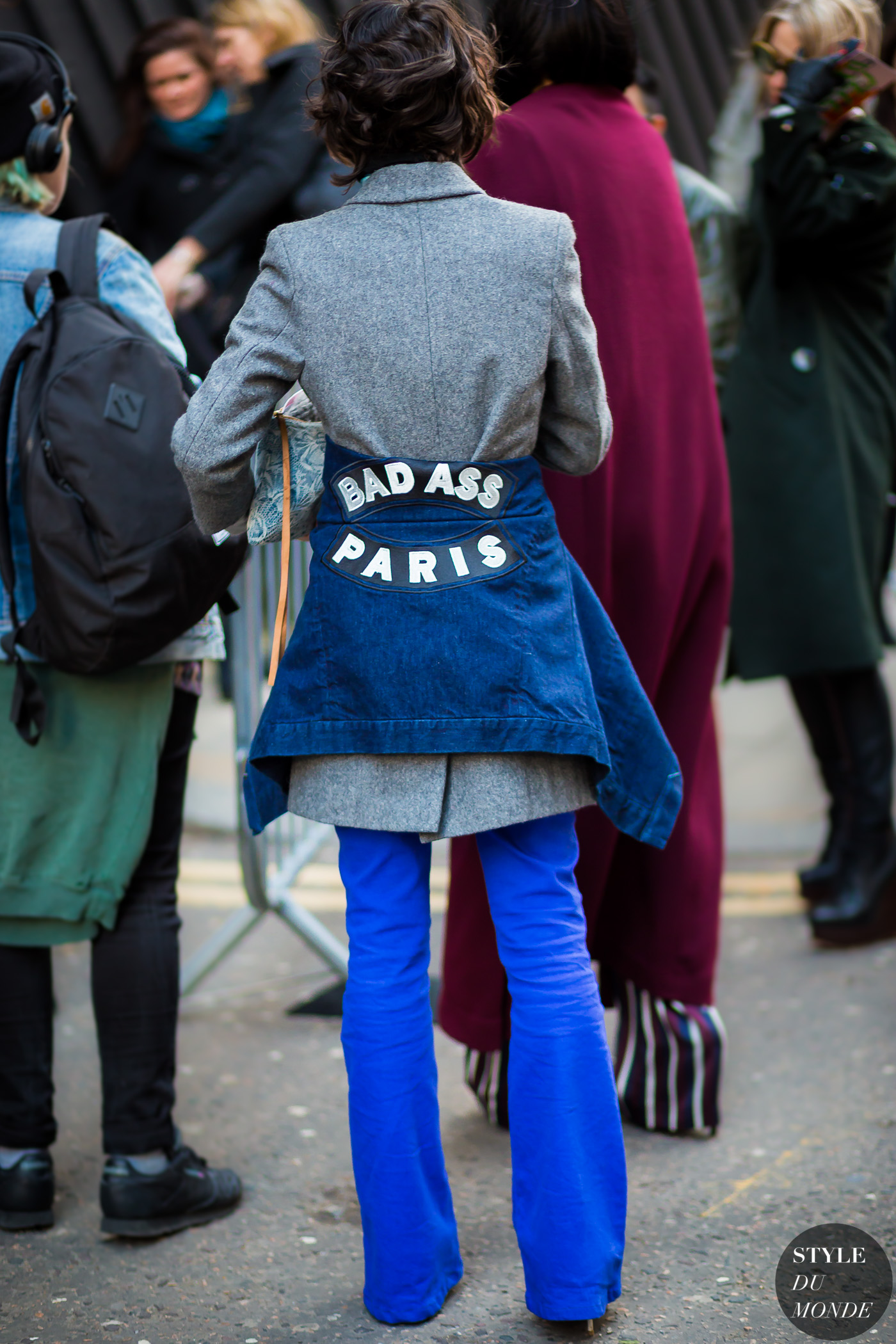Violaine Bernard Street Style Street Fashion Streetsnaps by STYLEDUMONDE Street Style Fashion Photography