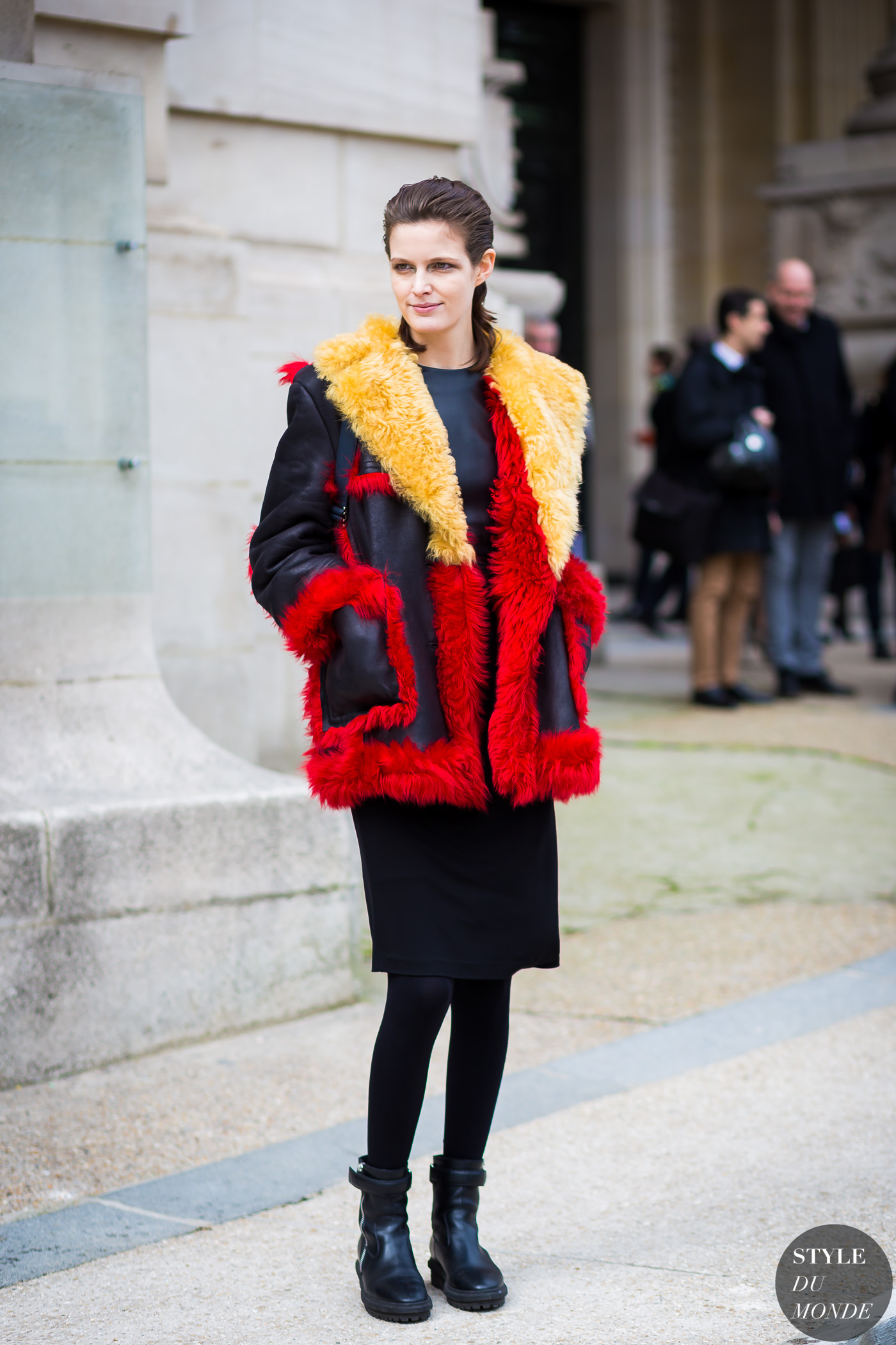 Image result for fashion shearling