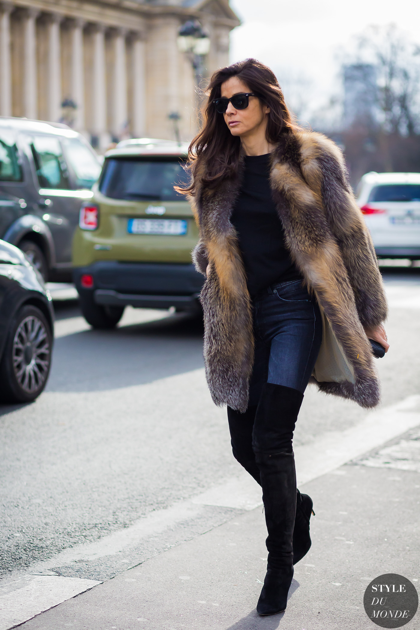 Barbara Martelo Street Style Street Fashion Streetsnaps by STYLEDUMONDE Street Style Fashion Photography