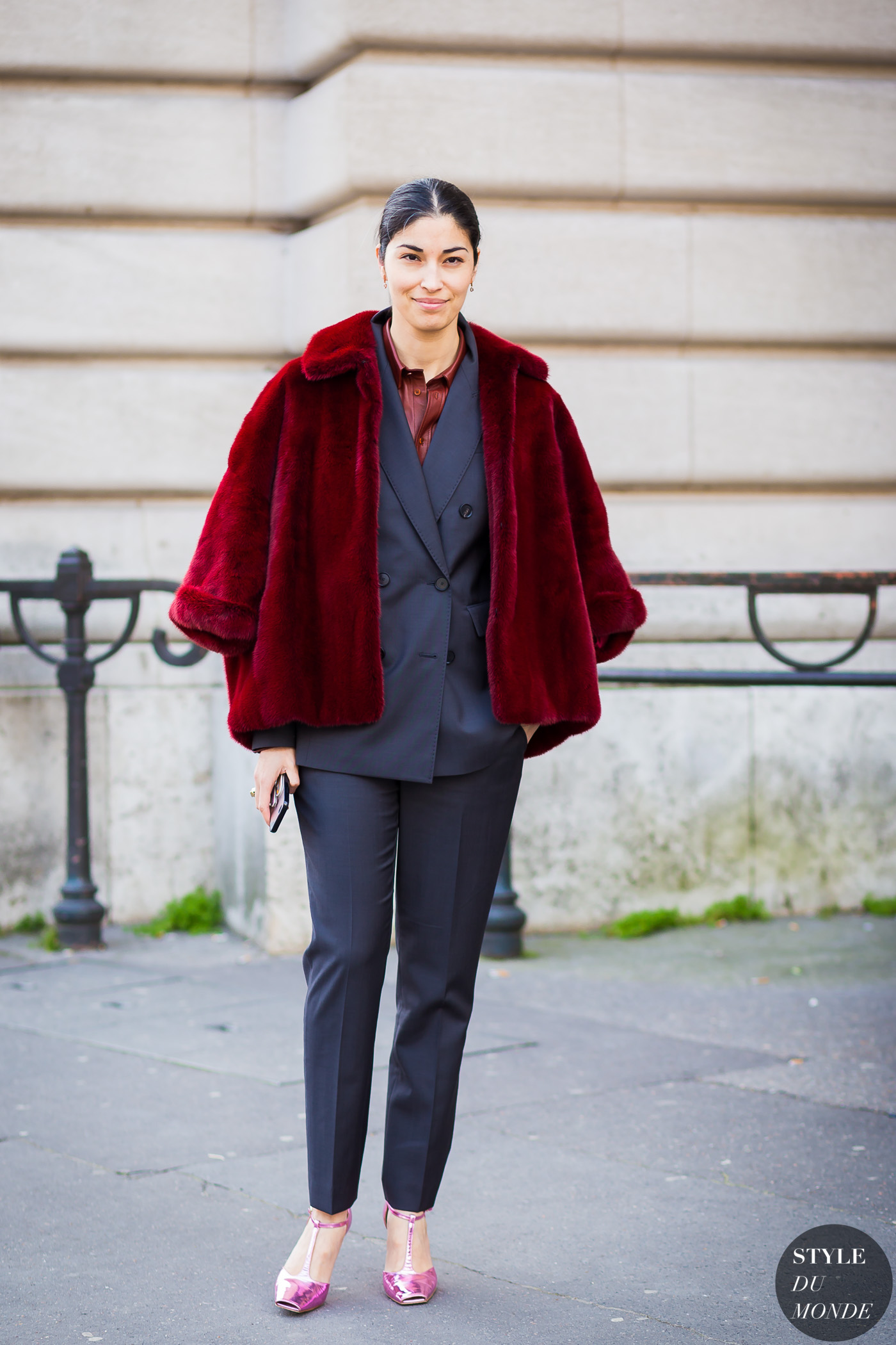 Caroline Issa Street Style Street Fashion Streetsnaps by STYLEDUMONDE Street Style Fashion Photography