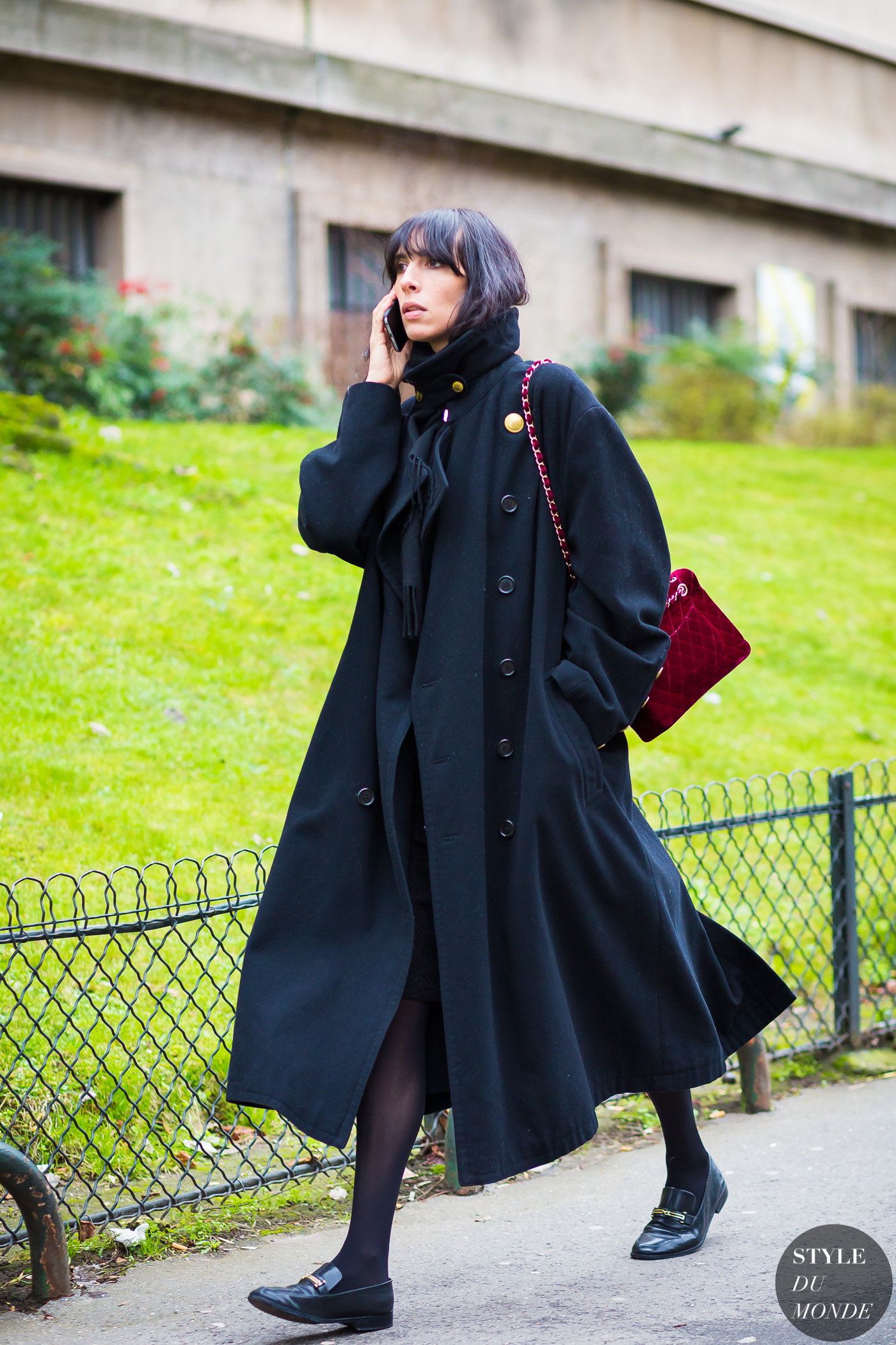 Jamie Bochert Street Style Street Fashion Streetsnaps by STYLEDUMONDE Street Style Fashion Photography
