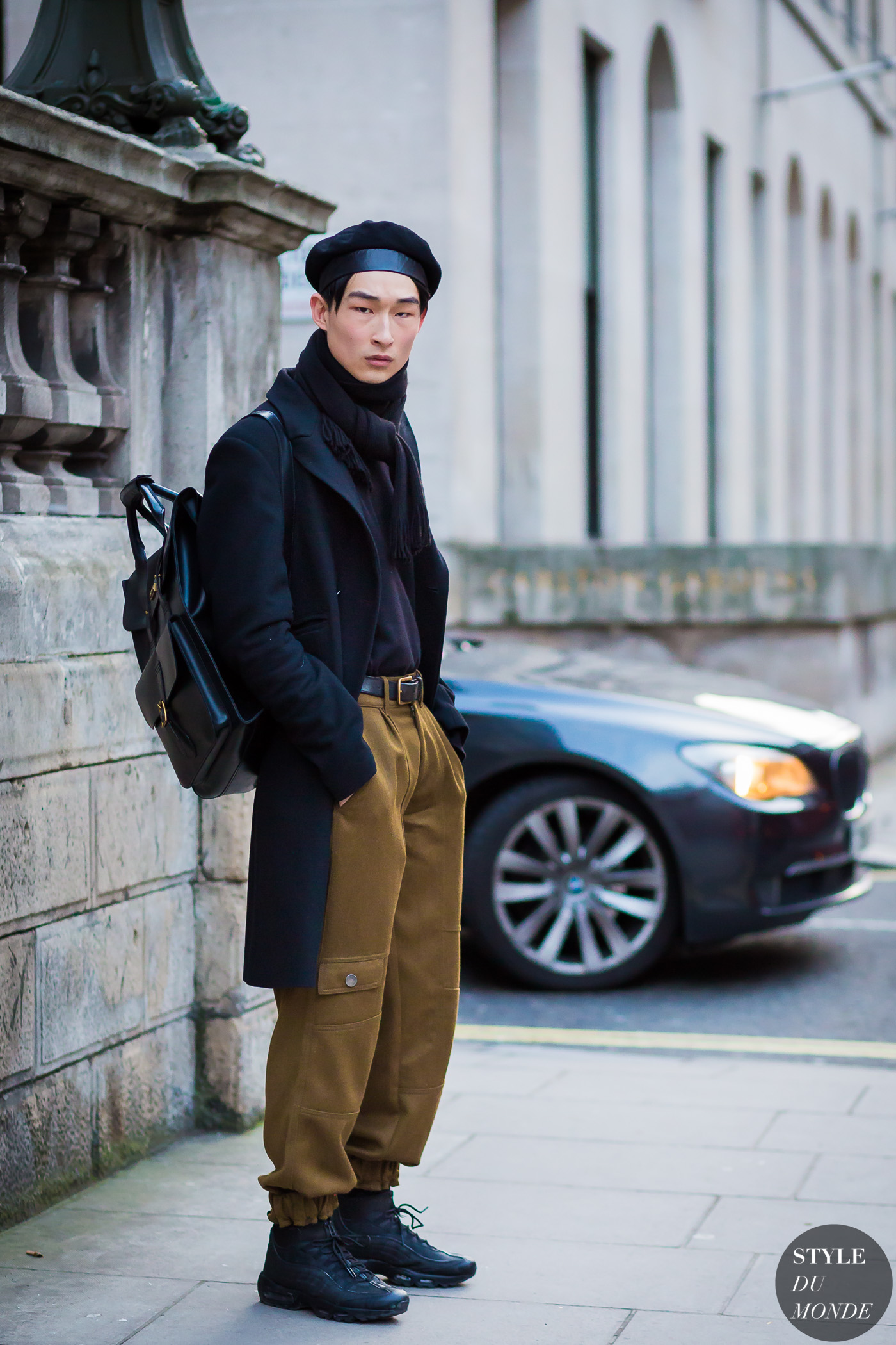 Sang Woo Kim Street Style Street Fashion Streetsnaps by STYLEDUMONDE Street Style Fashion Photography