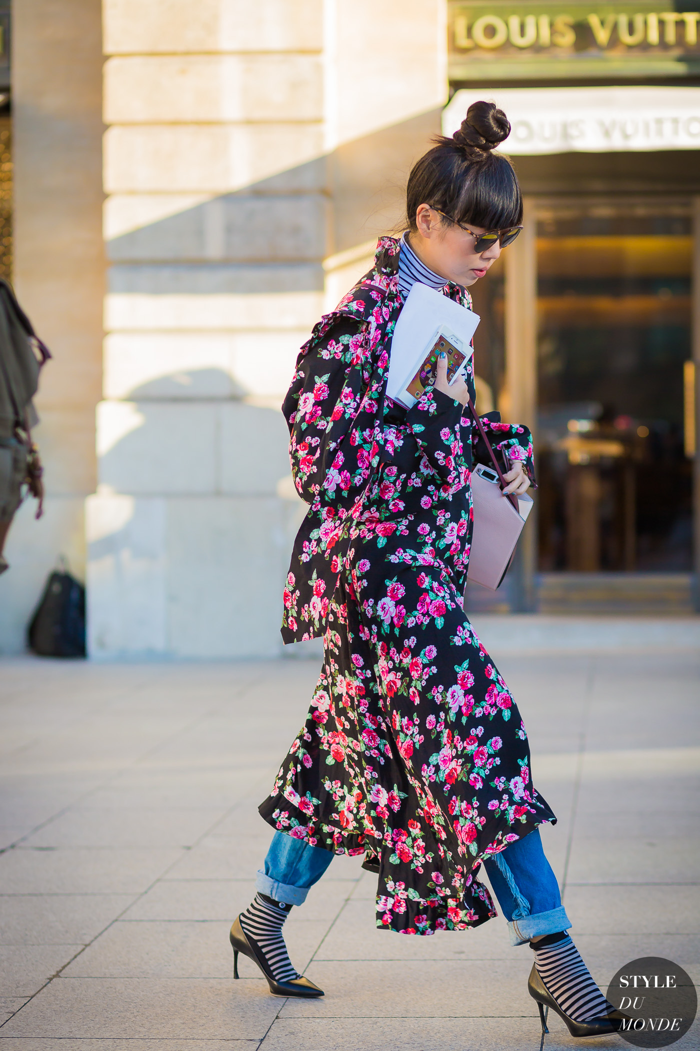 Susie Lau Style Bubble Street Style Street Fashion Streetsnaps by STYLEDUMONDE Street Style Fashion Photography