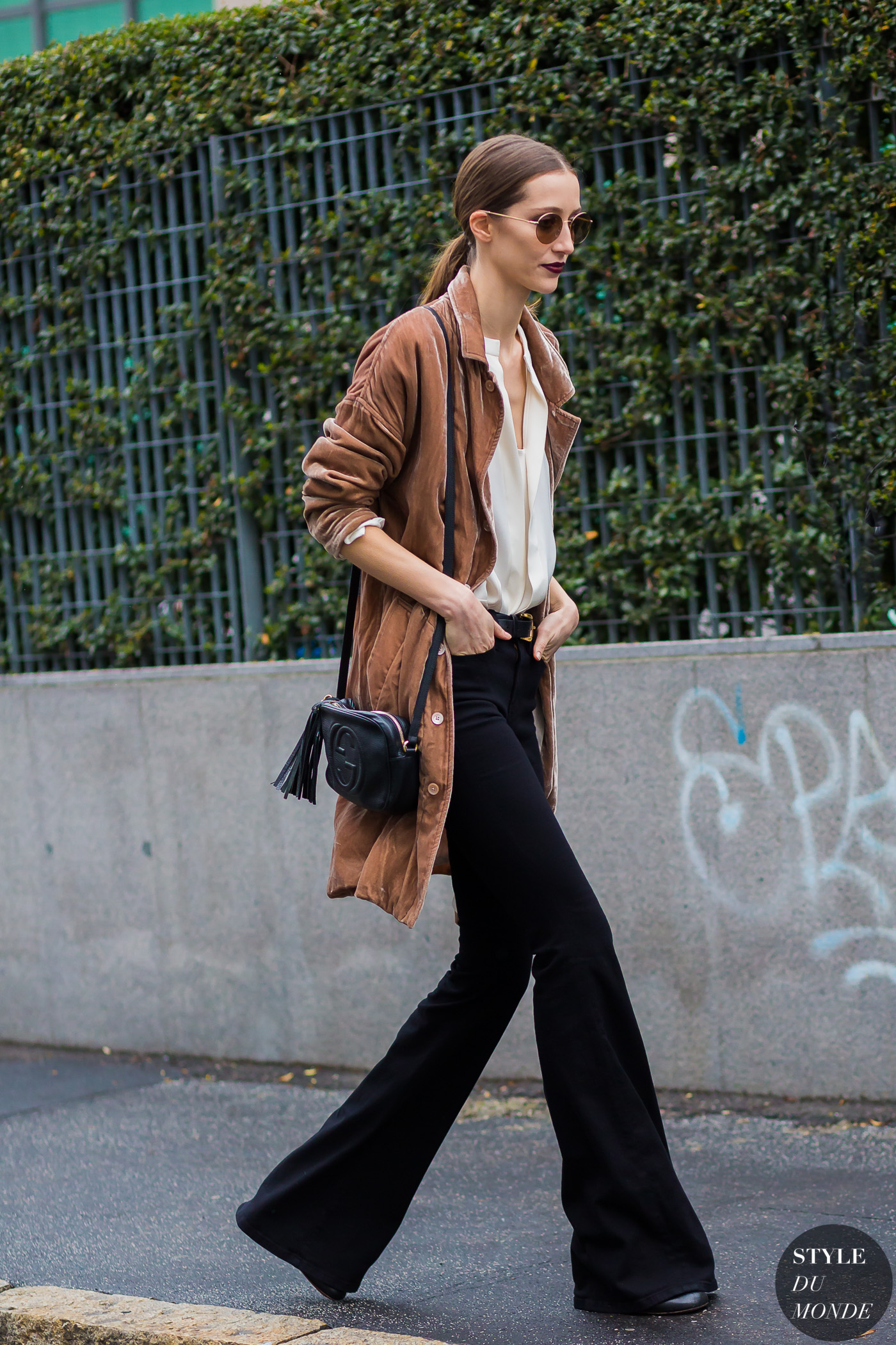 Alana Zimmer Street Style Street Fashion Streetsnaps by STYLEDUMONDE Street Style Fashion Photography