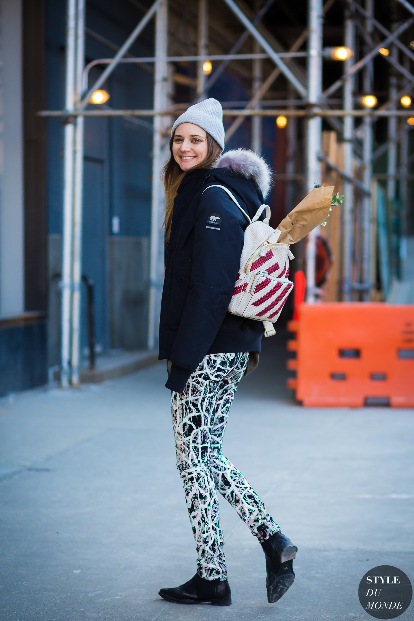 Brie Welch Street Style Street Fashion Streetsnaps by STYLEDUMONDE Street Style Fashion Photography