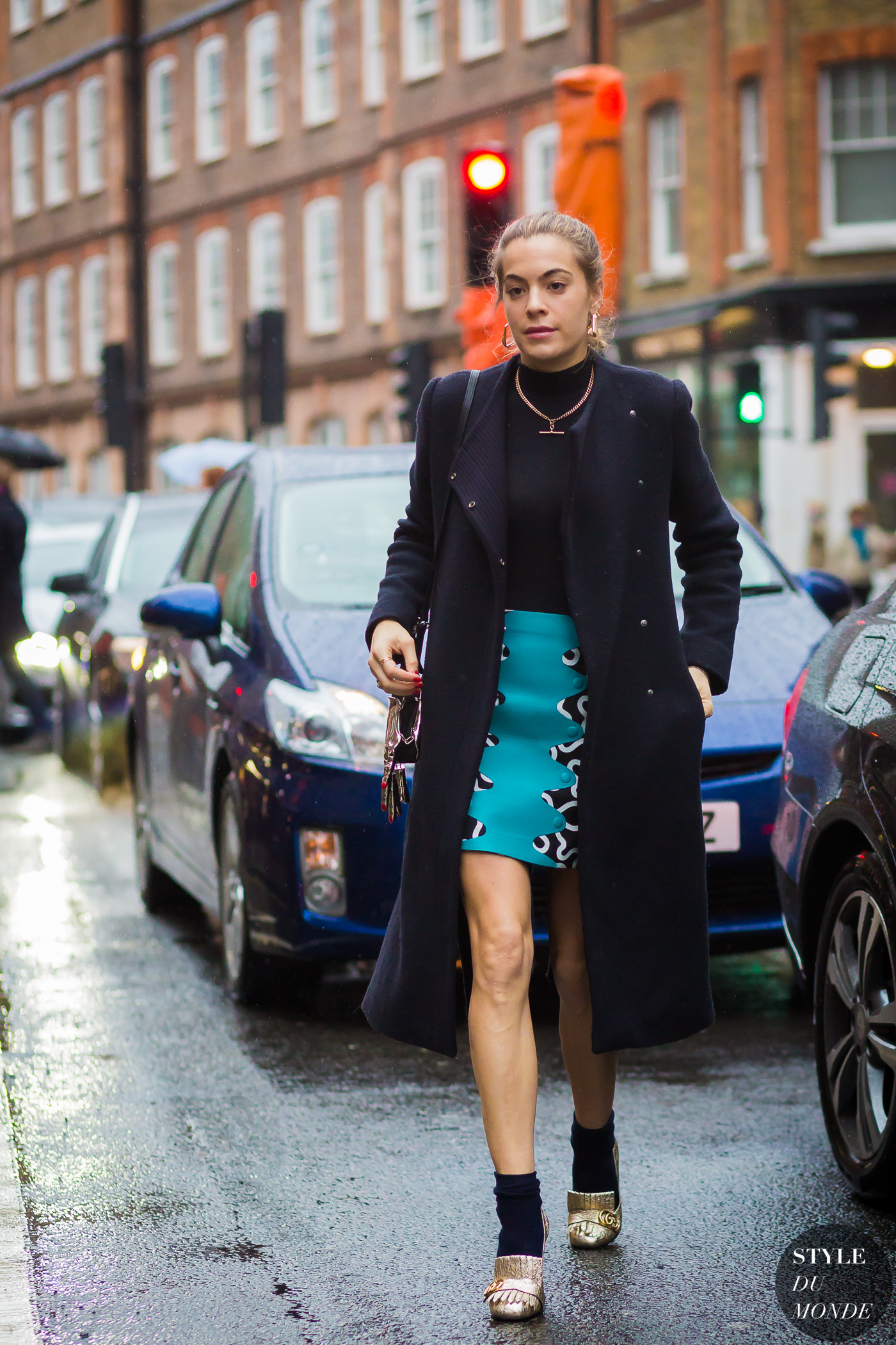Chelsea Leyland Street Style Street Fashion Streetsnaps by STYLEDUMONDE Street Style Fashion Photography
