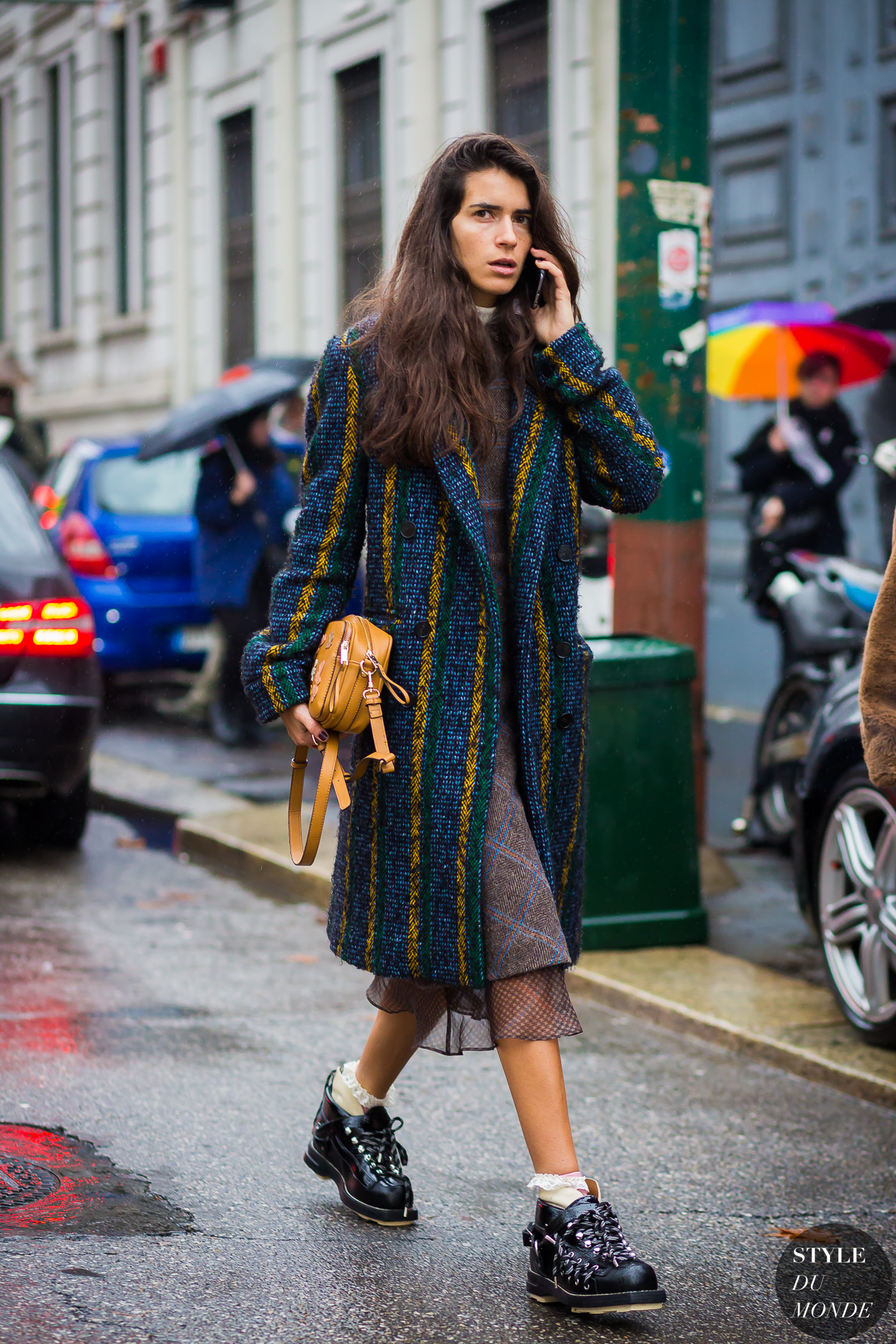 Chiara Totire Street Style Street Fashion Streetsnaps by STYLEDUMONDE Street Style Fashion Photography
