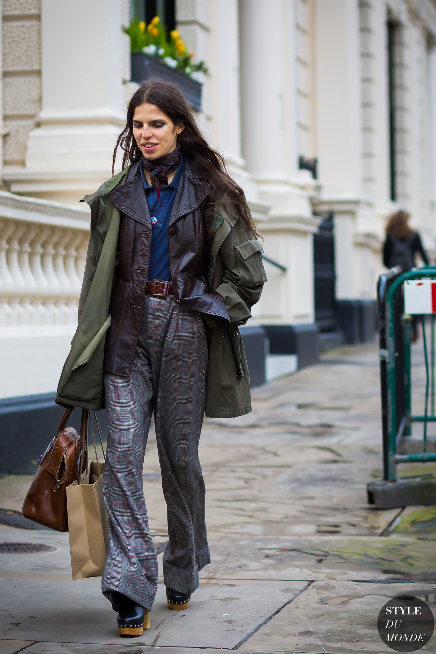 London Fashion Week Fw 2016 Street Style Hayett Mccarthy