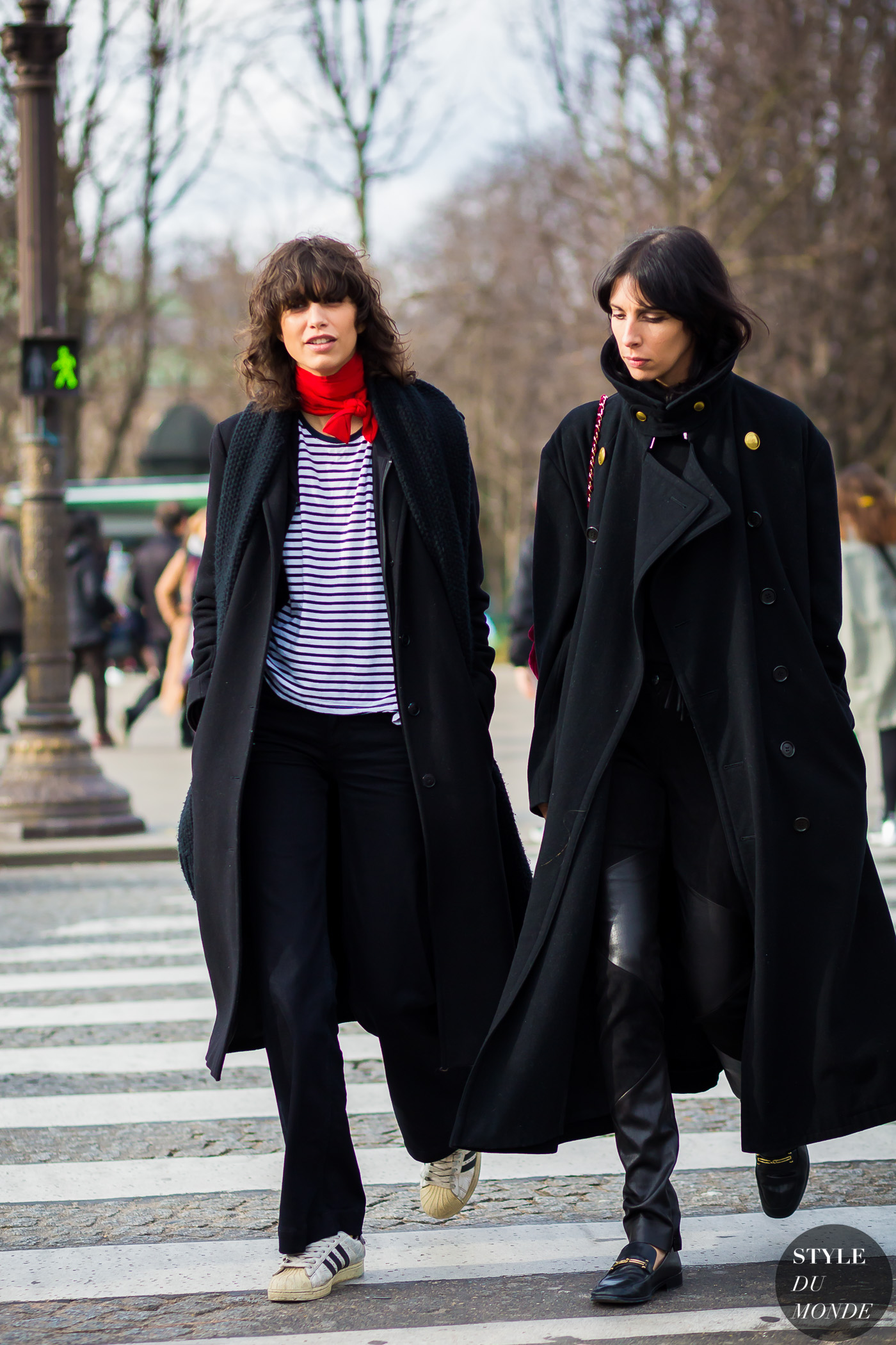 Mica Arganaraz and Jamie Bochert Street Style Street Fashion Streetsnaps by STYLEDUMONDE Street Style Fashion Photography