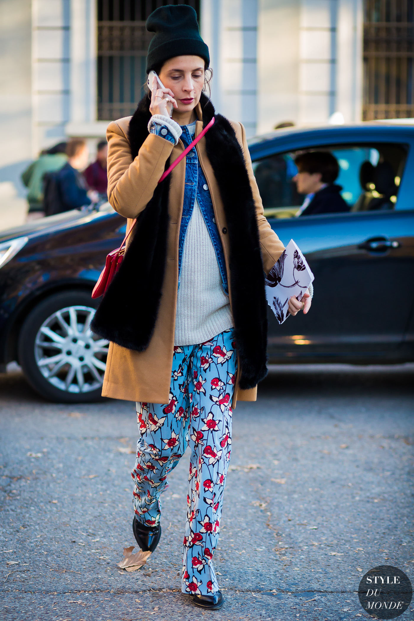 Michela Meni Street Style Street Fashion Streetsnaps by STYLEDUMONDE Street Style Fashion Photography