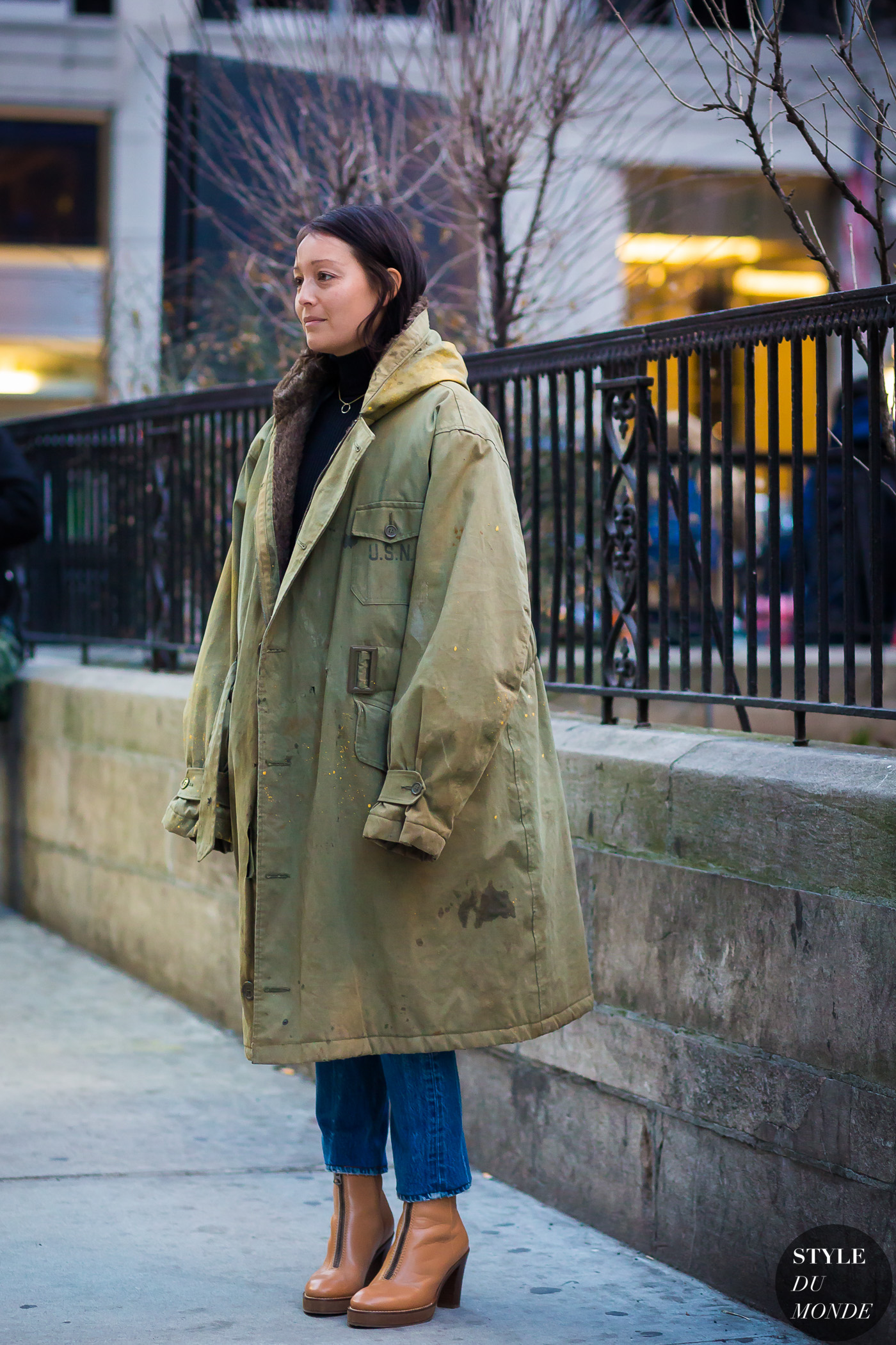 Rachael Wang Street Style Street Fashion Streetsnaps by STYLEDUMONDE Street Style Fashion Photography
